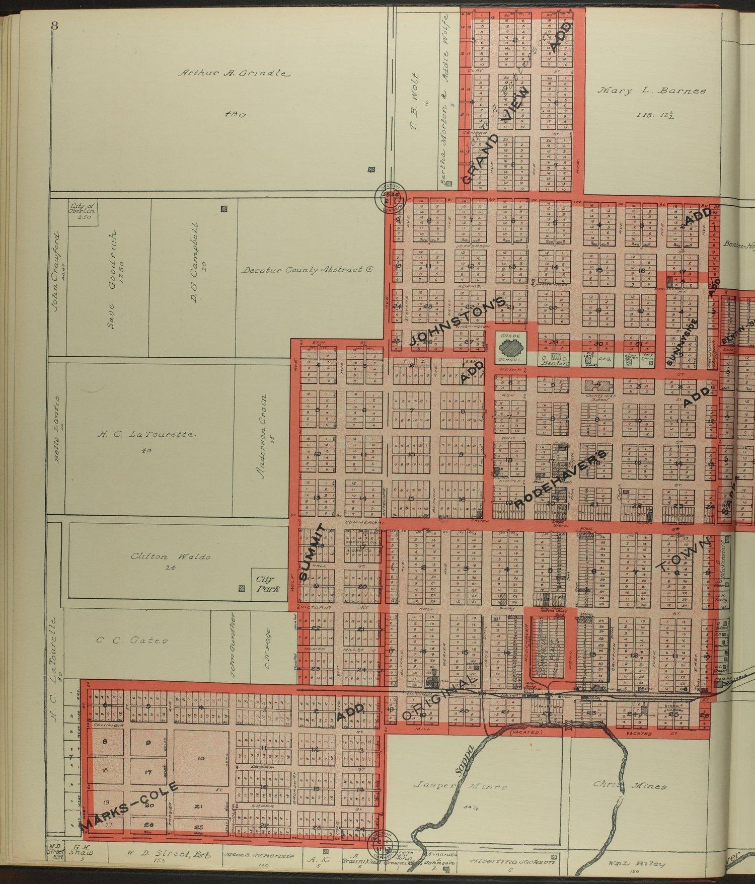Standard atlas of Decatur County, Kansas - 8