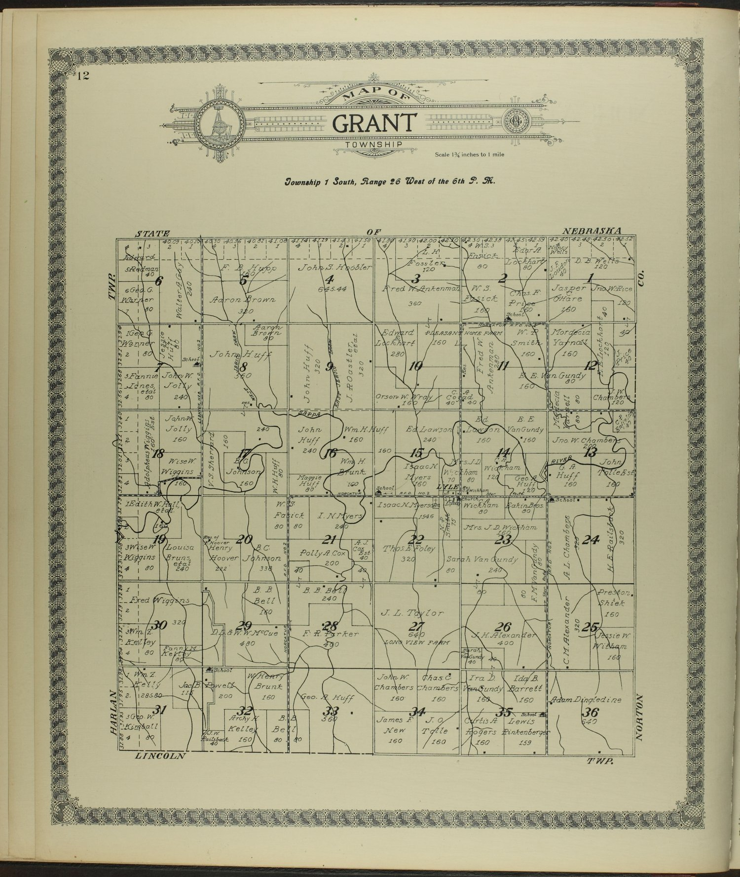 Standard atlas of Decatur County, Kansas - 12