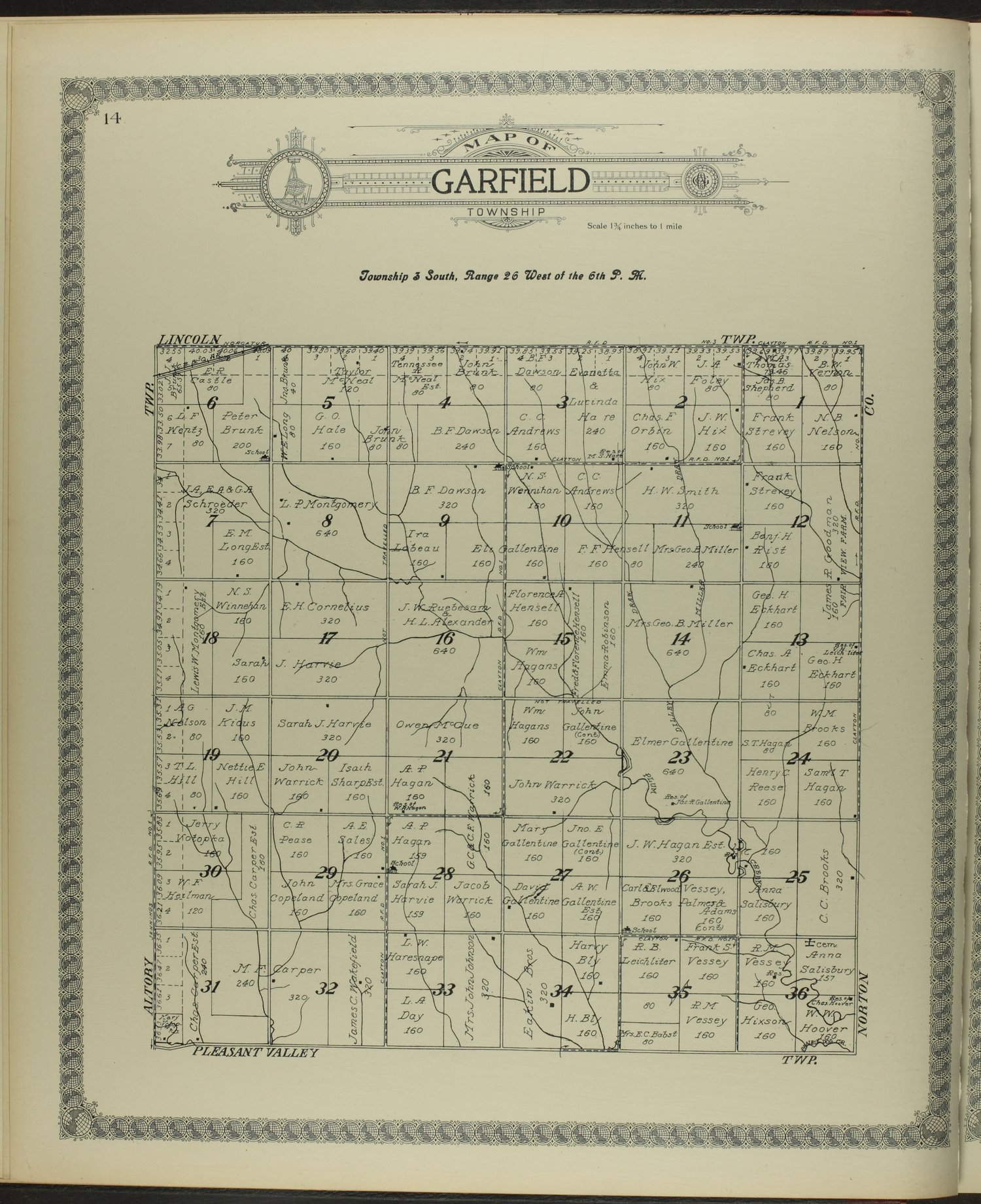 Standard atlas of Decatur County, Kansas - 14