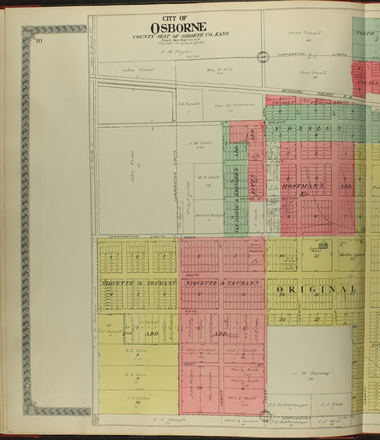 Standard atlas of Osborne County, Kansas - 10