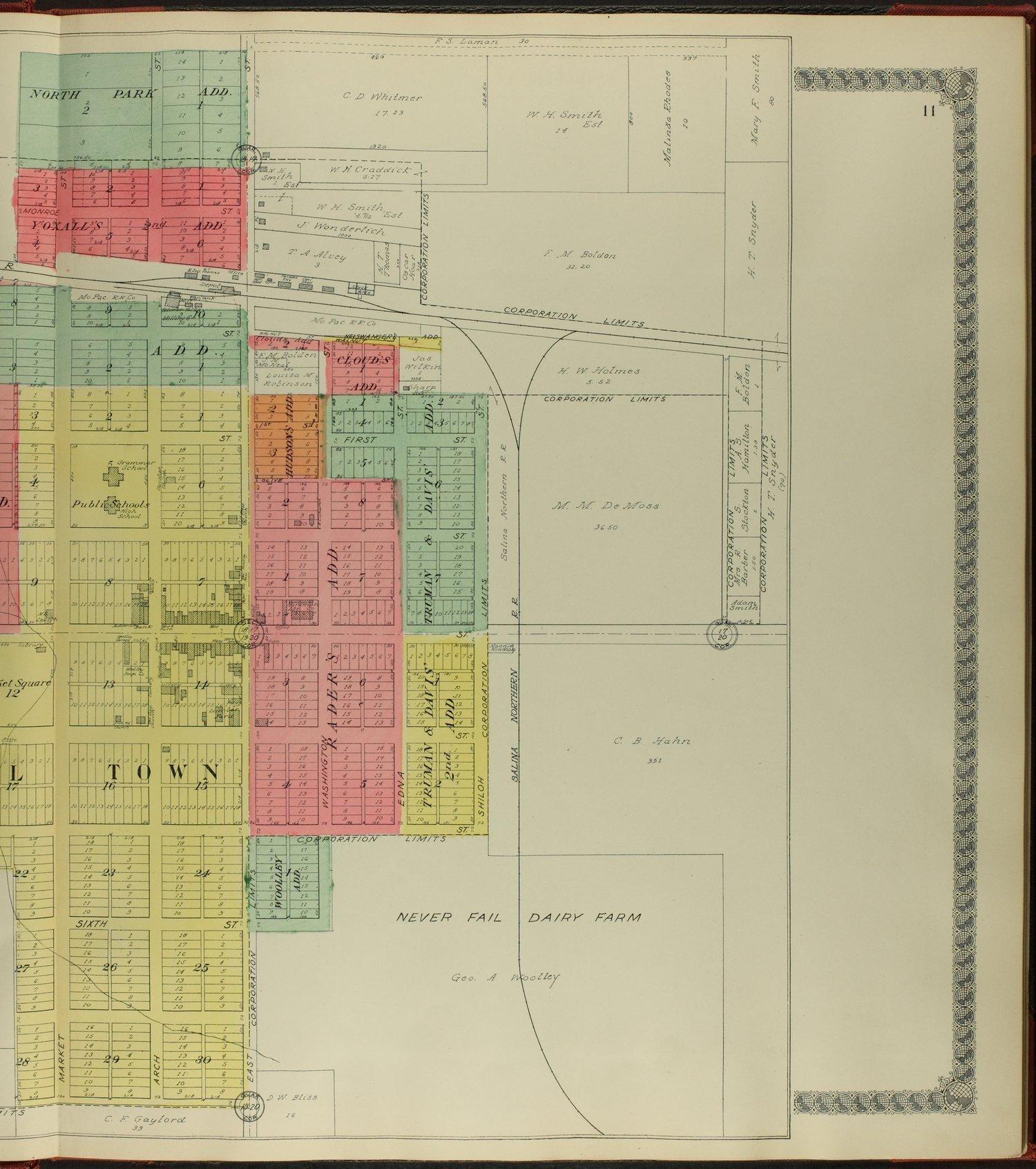 Standard atlas of Osborne County, Kansas - 11