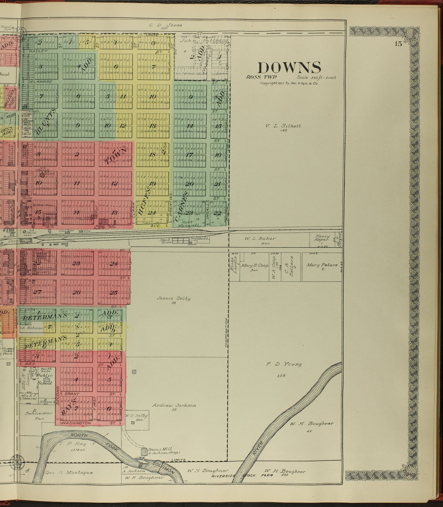 Standard atlas of Osborne County, Kansas - 15