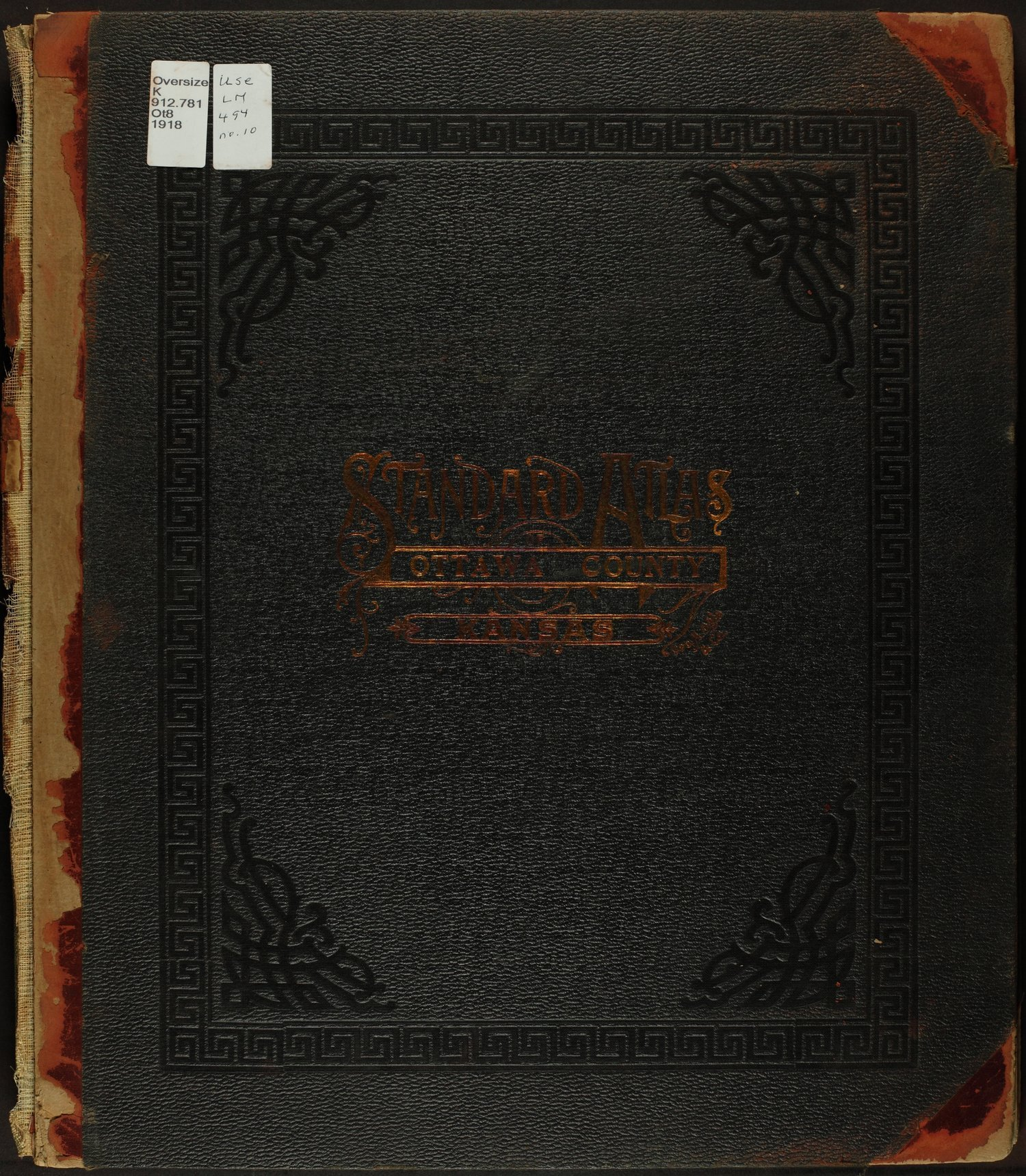 Standard atlas of Ottawa County, Kansas - Cover
