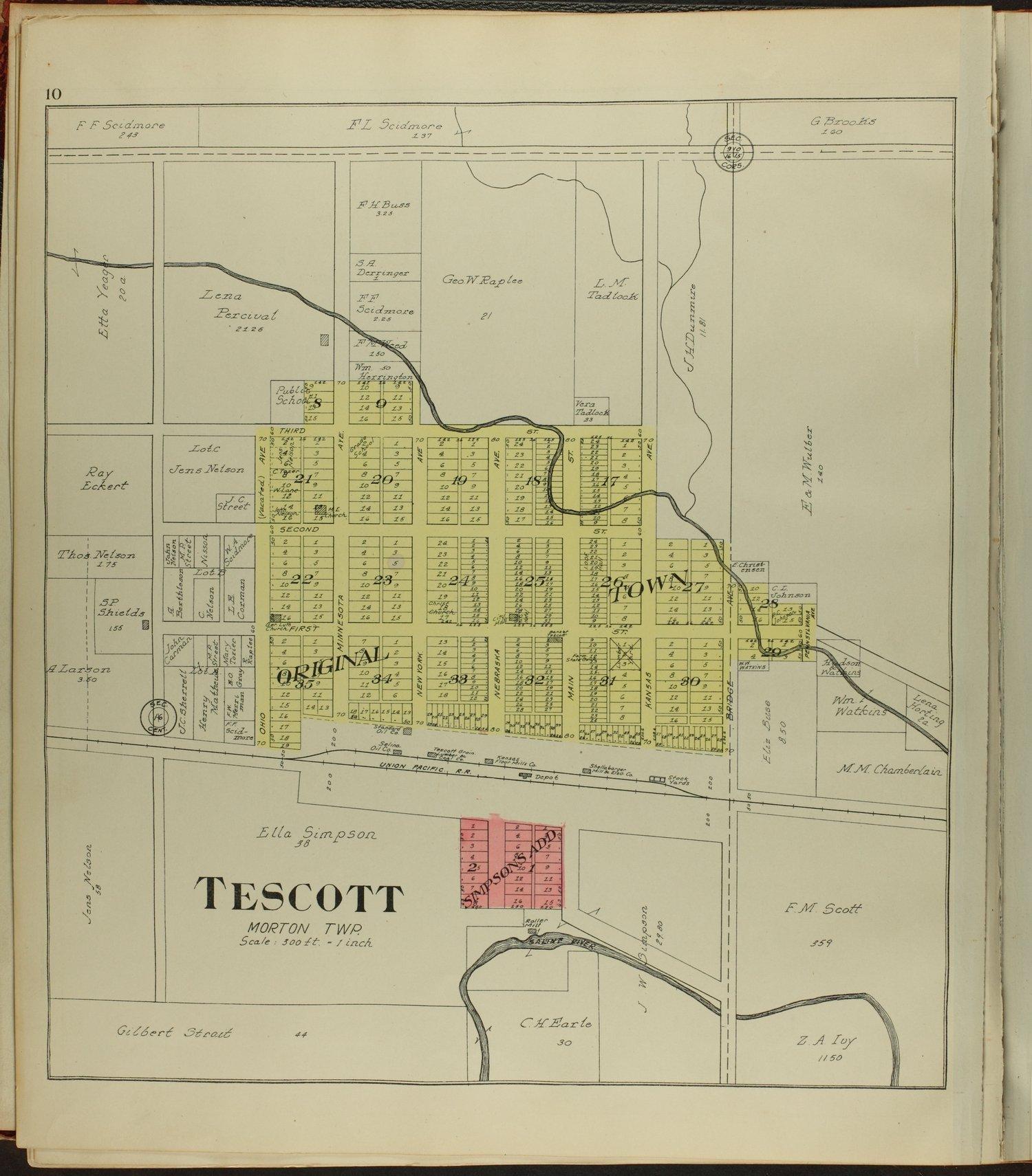 Standard atlas of Ottawa County, Kansas - 10