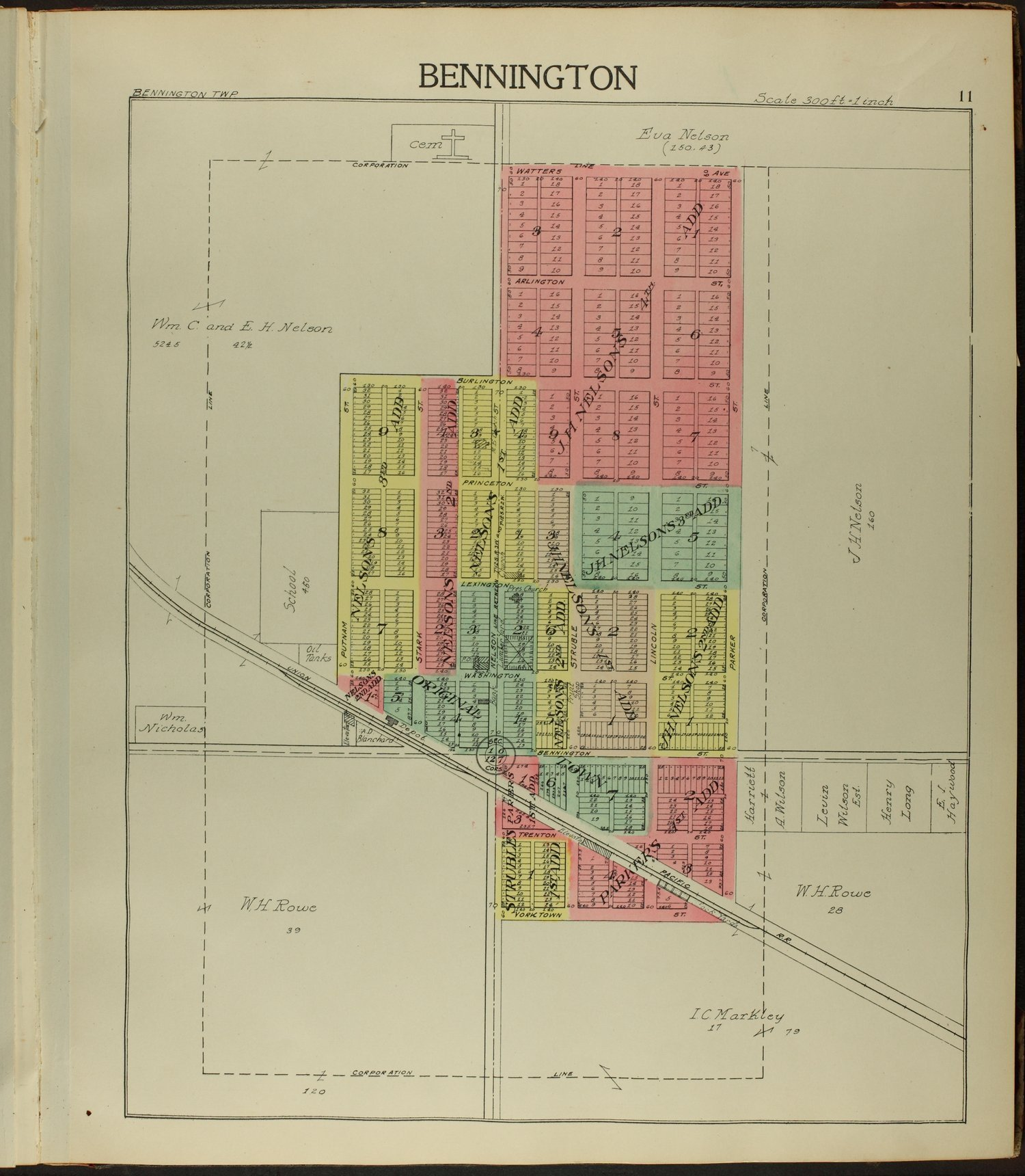Standard atlas of Ottawa County, Kansas - 11