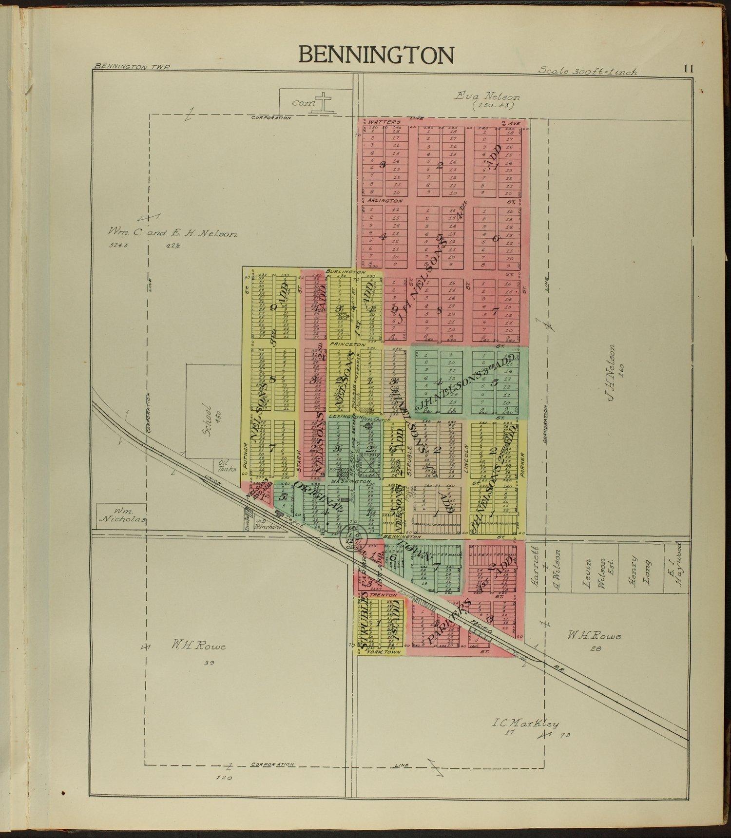 Standard atlas of Ottawa County, Kansas - 11