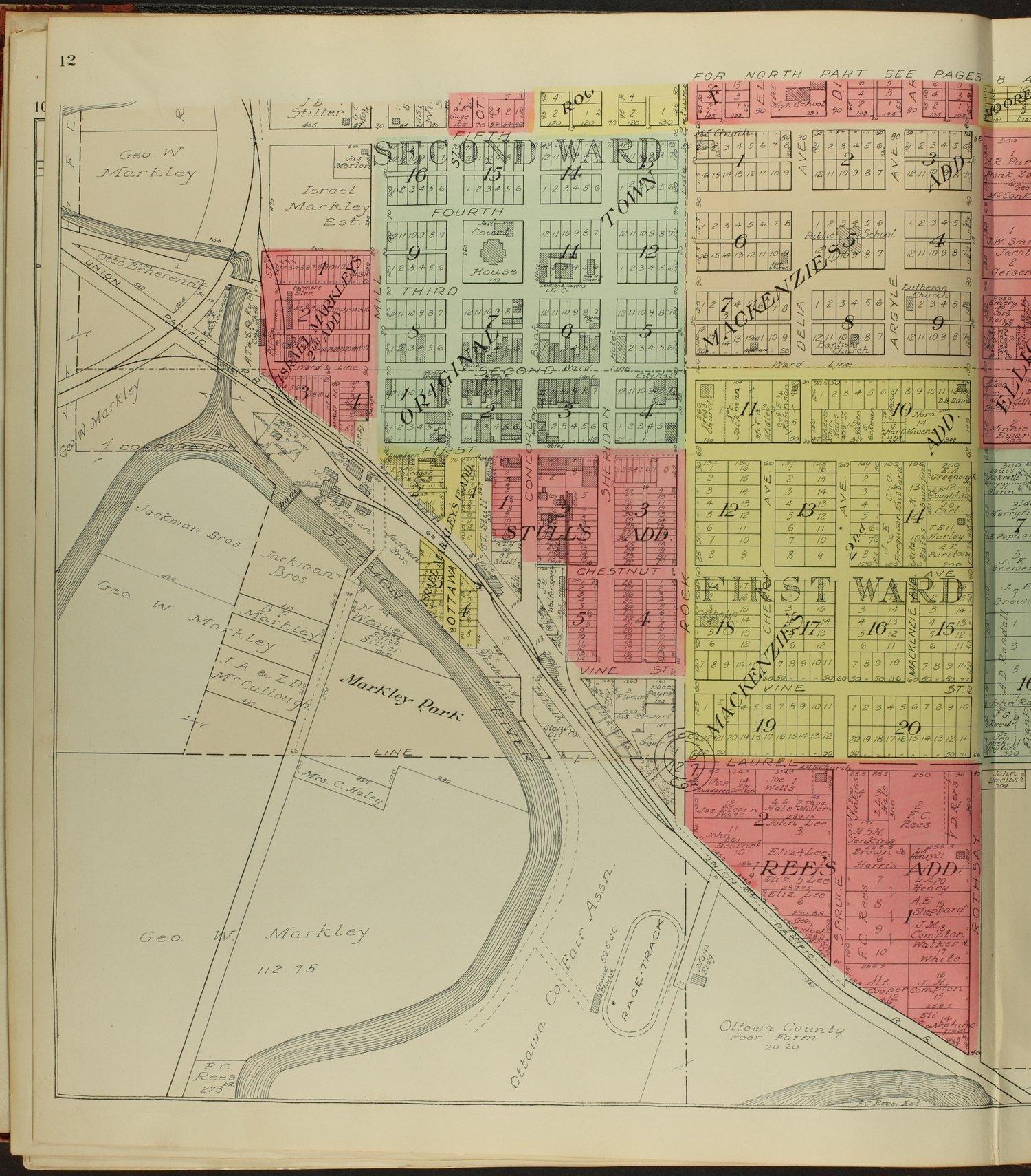 Standard atlas of Ottawa County, Kansas - 12