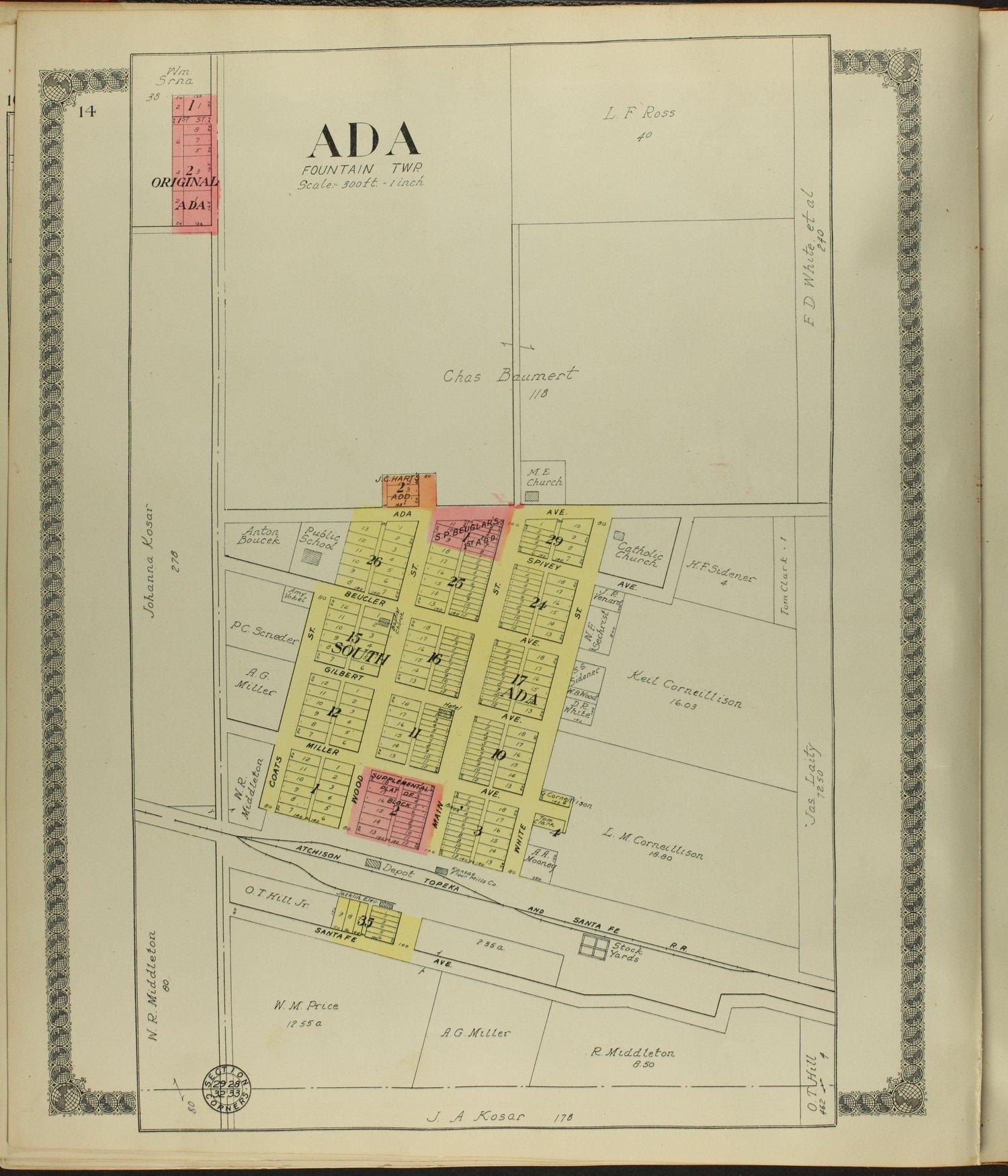 Standard atlas of Ottawa County, Kansas - 14