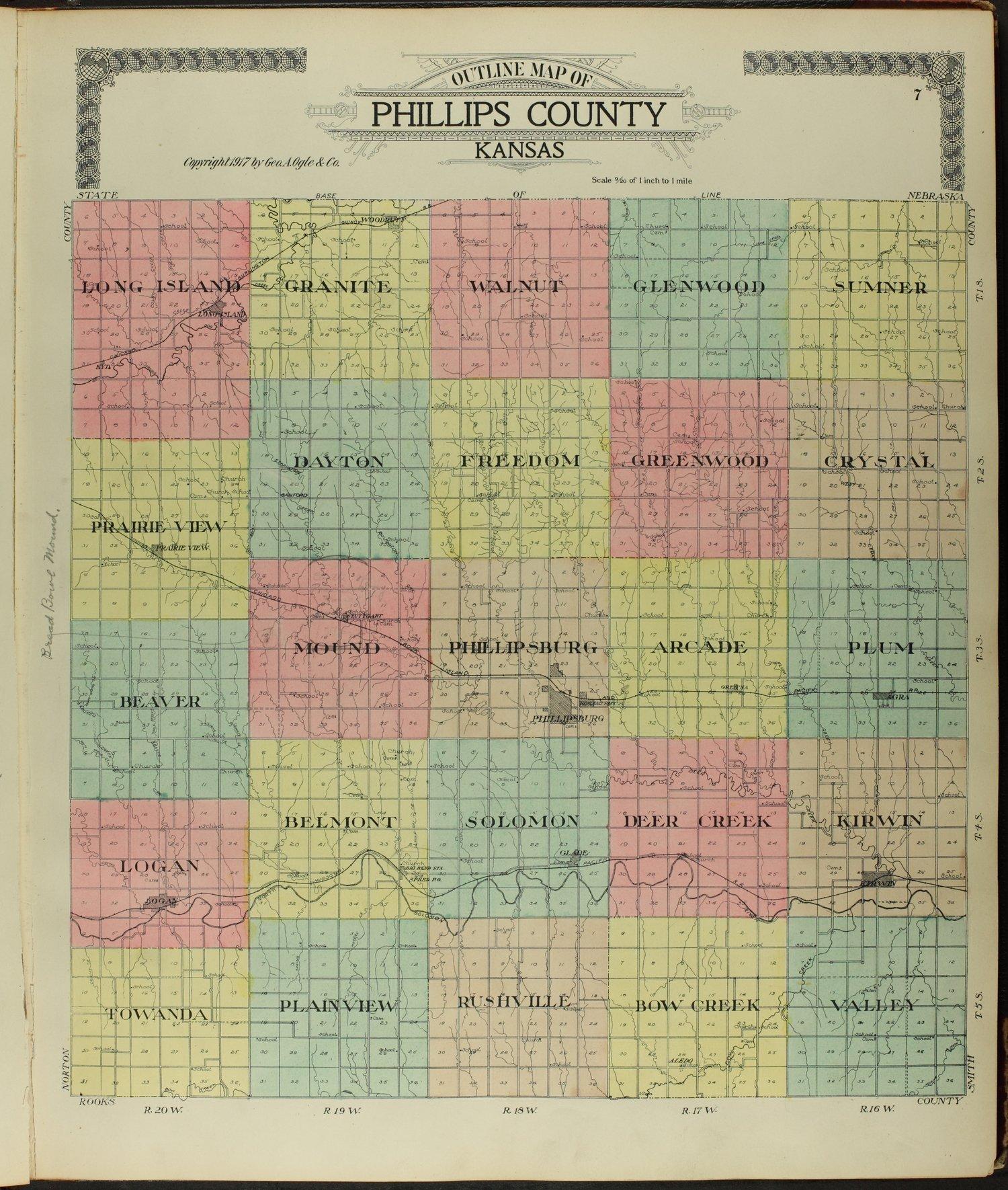 Standard atlas of Phillips County, Kansas - 7