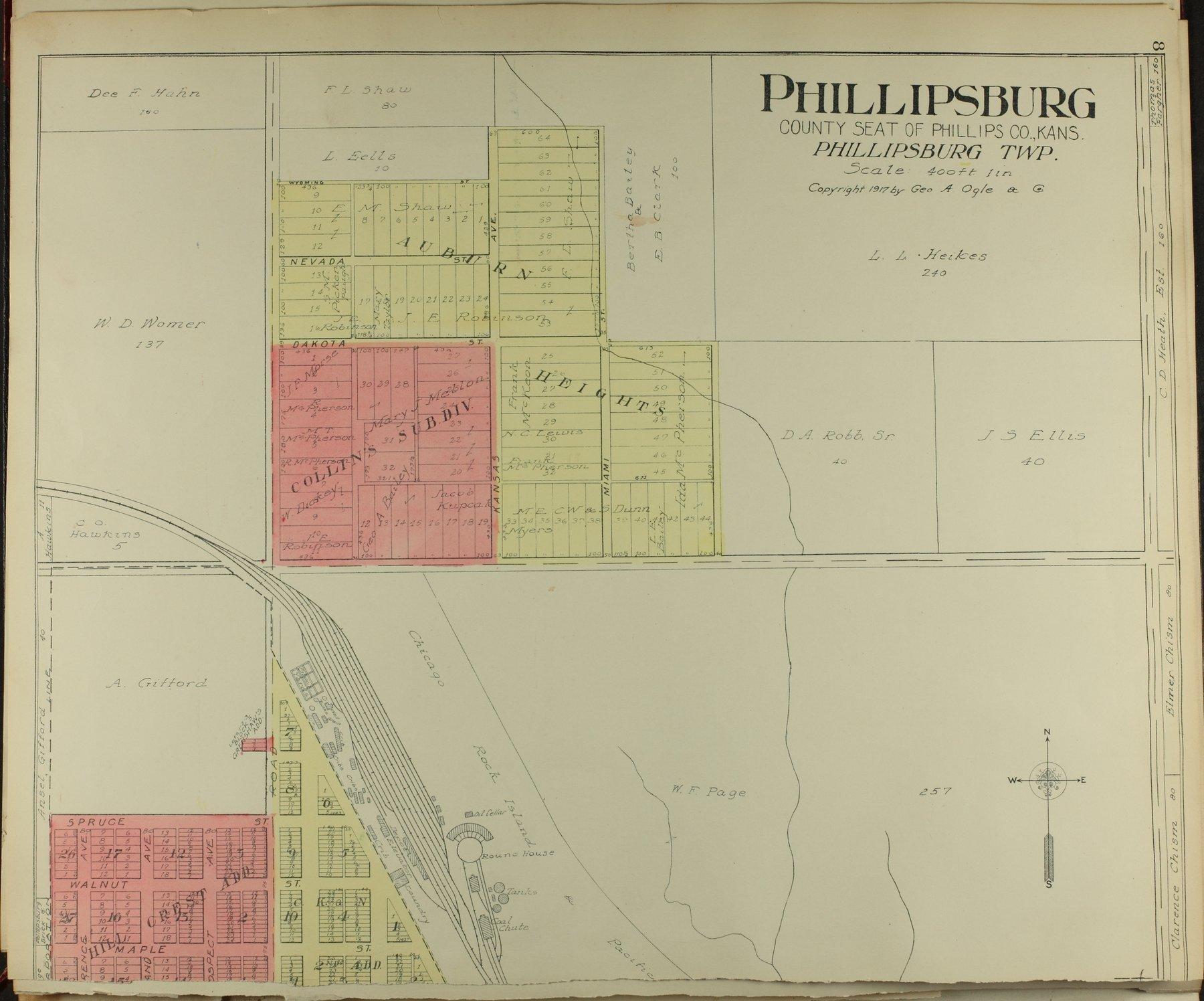 Standard atlas of Phillips County, Kansas - 8