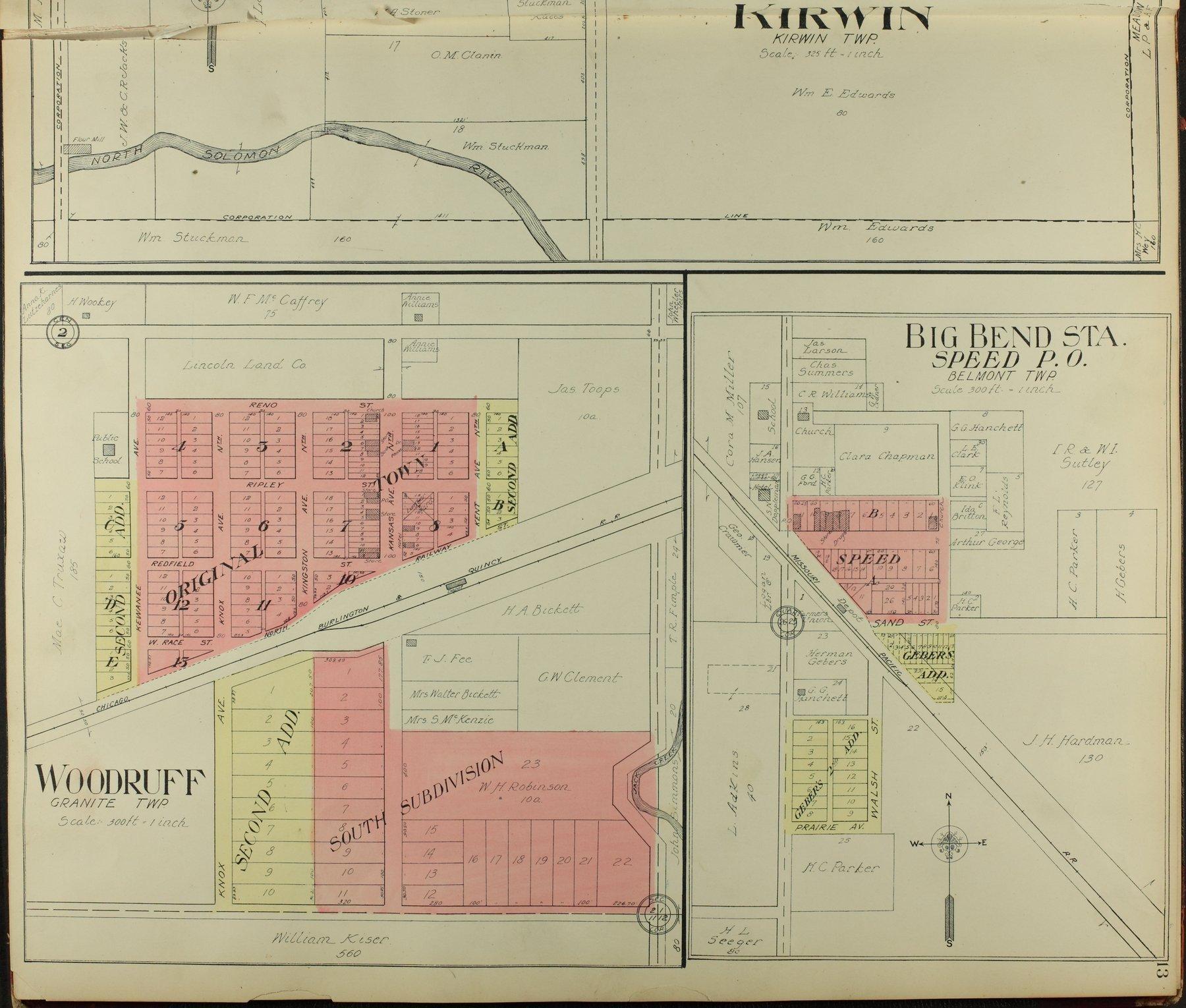 Standard atlas of Phillips County, Kansas - 13