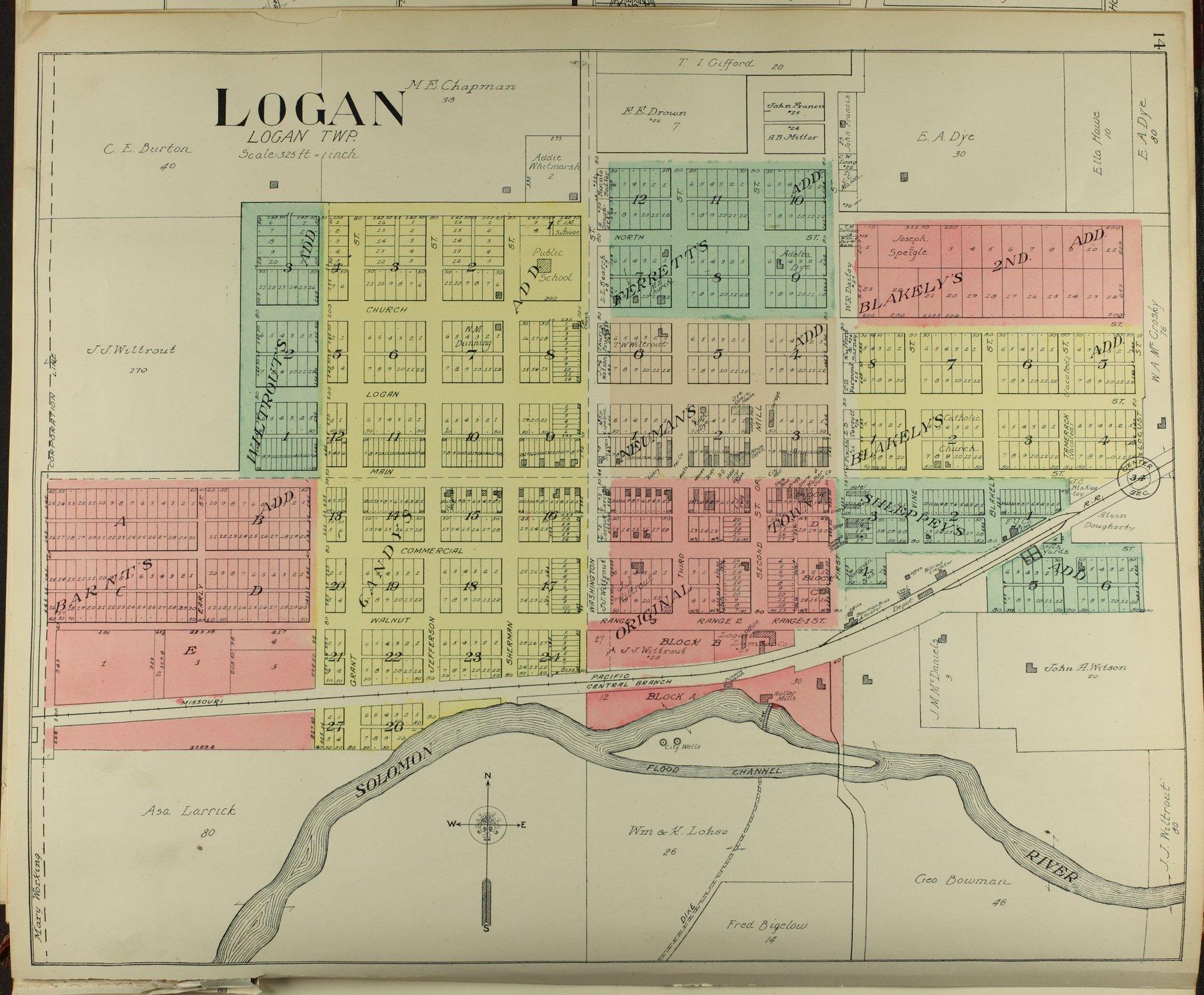 Standard atlas of Phillips County, Kansas - 14