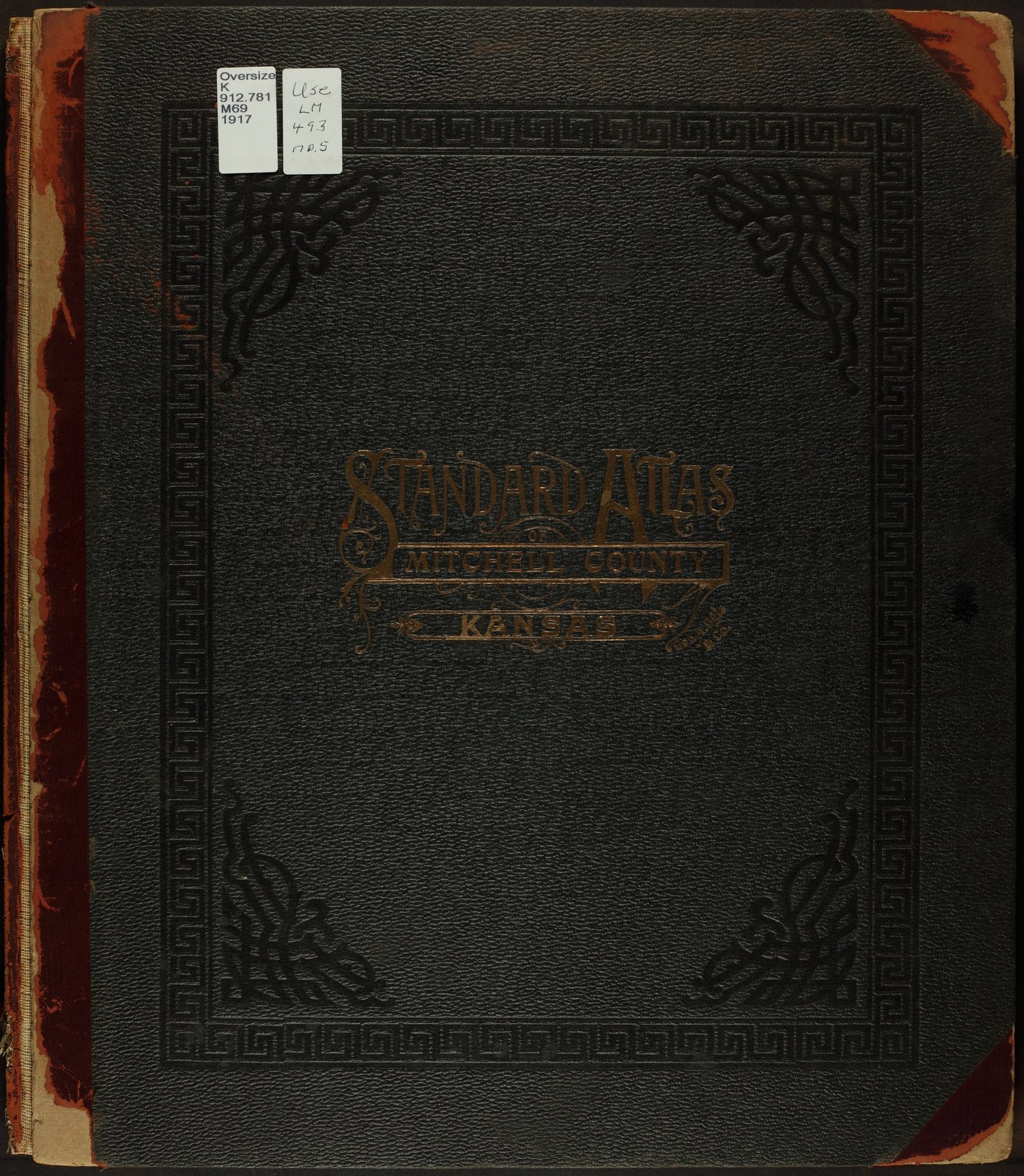 Standard atlas of Mitchell County, Kansas - Front Cover