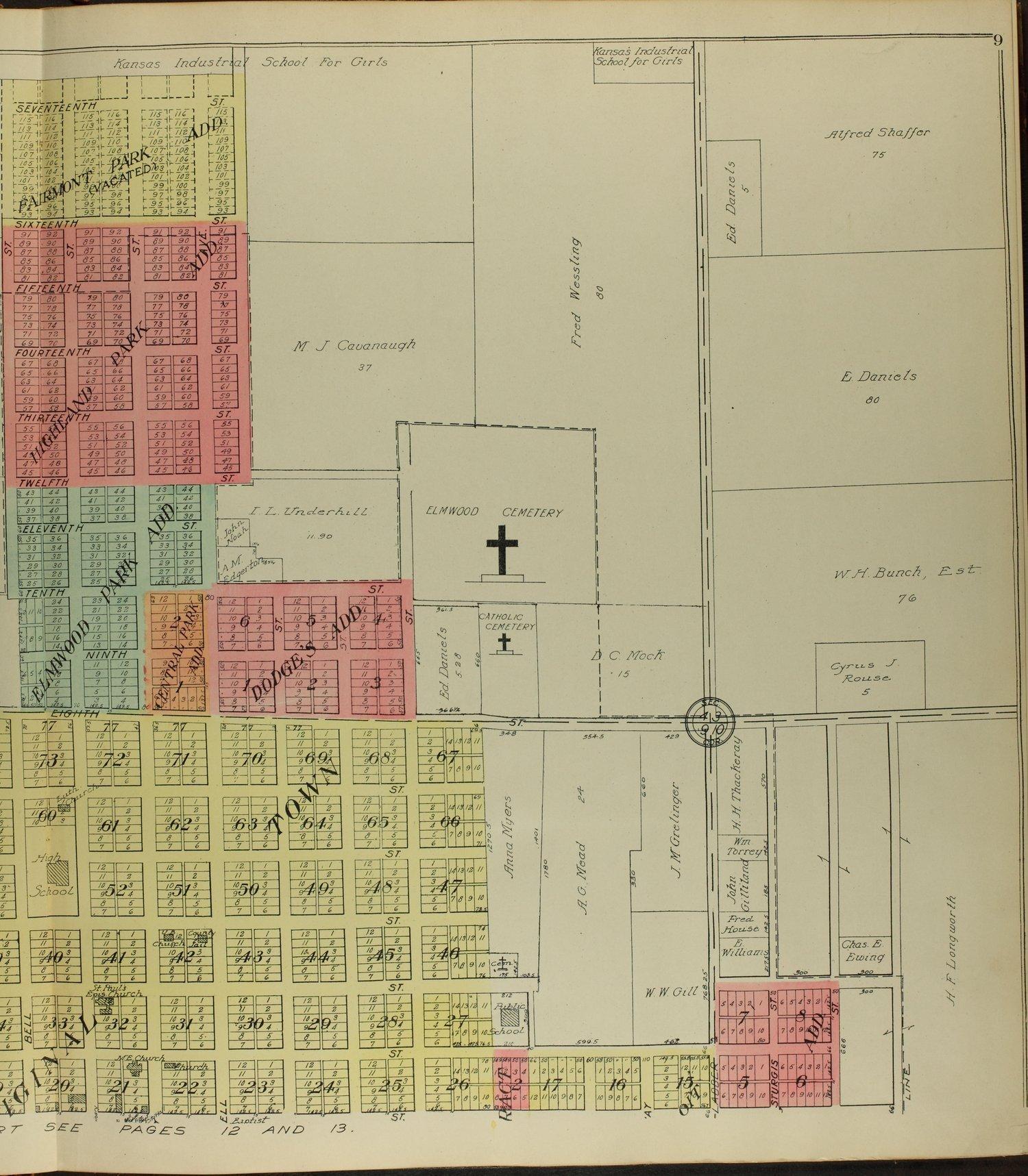 Standard atlas of Mitchell County, Kansas - 9