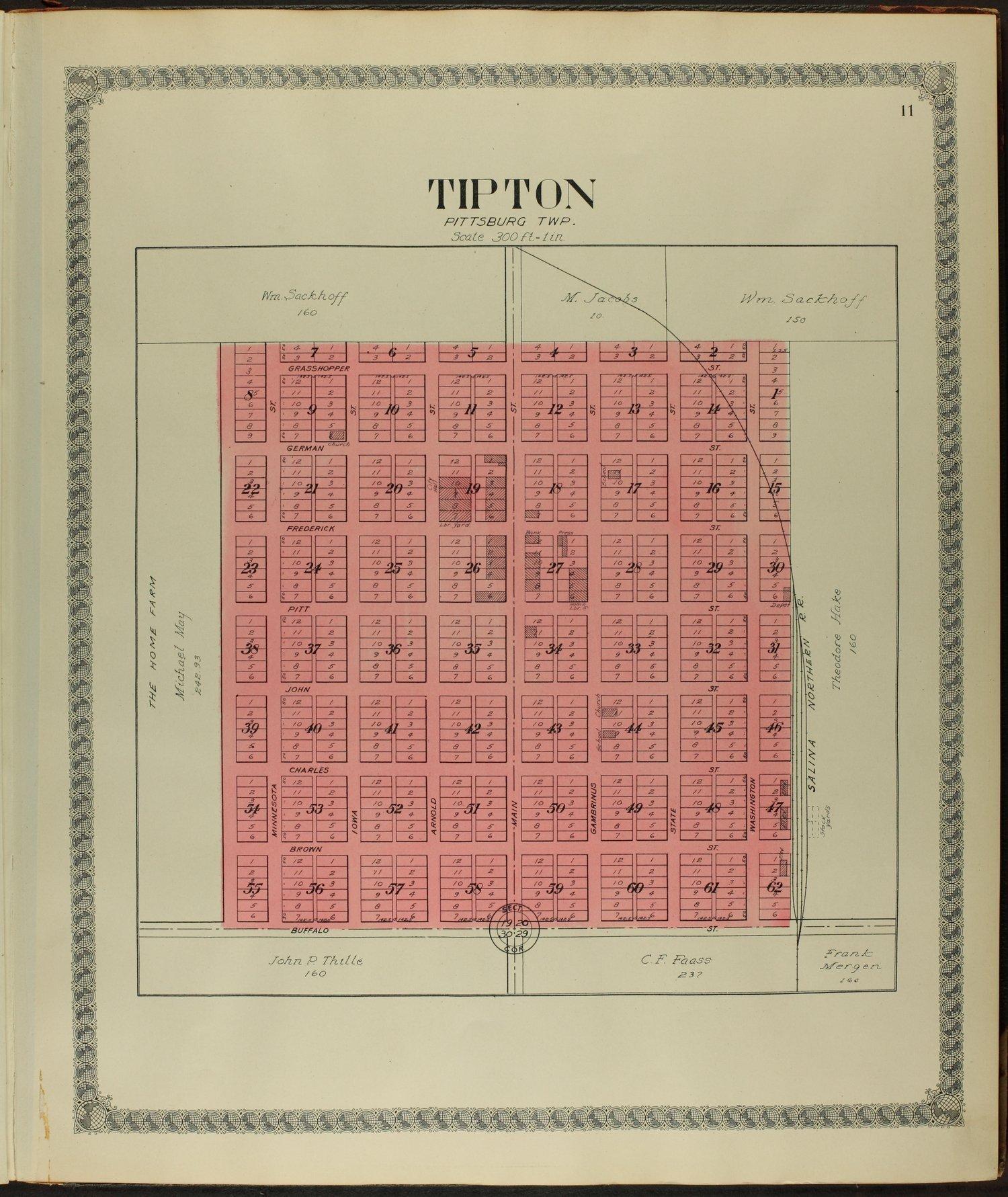 Standard atlas of Mitchell County, Kansas - 11