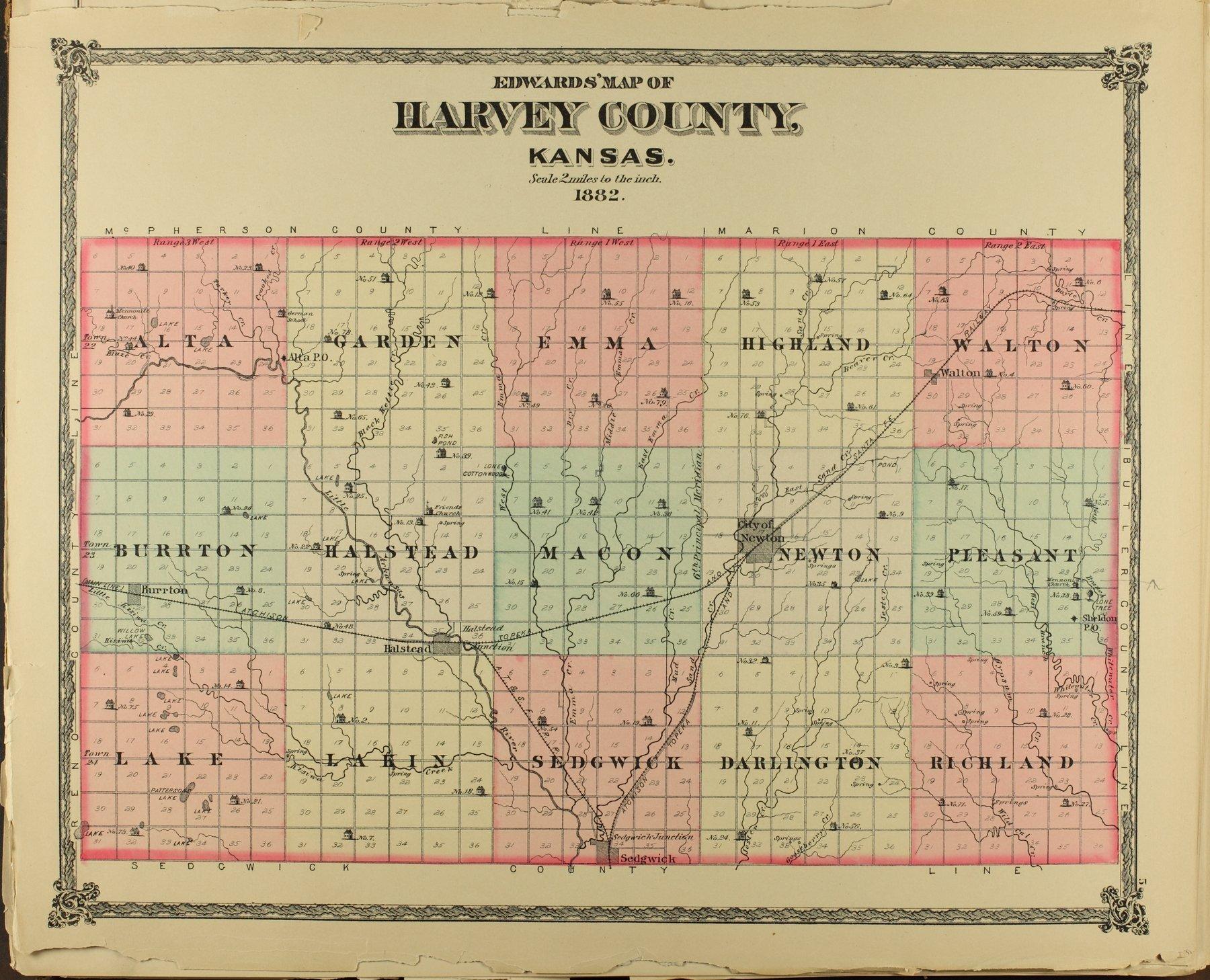 Historical atlas of Harvey County, Kansas - 5