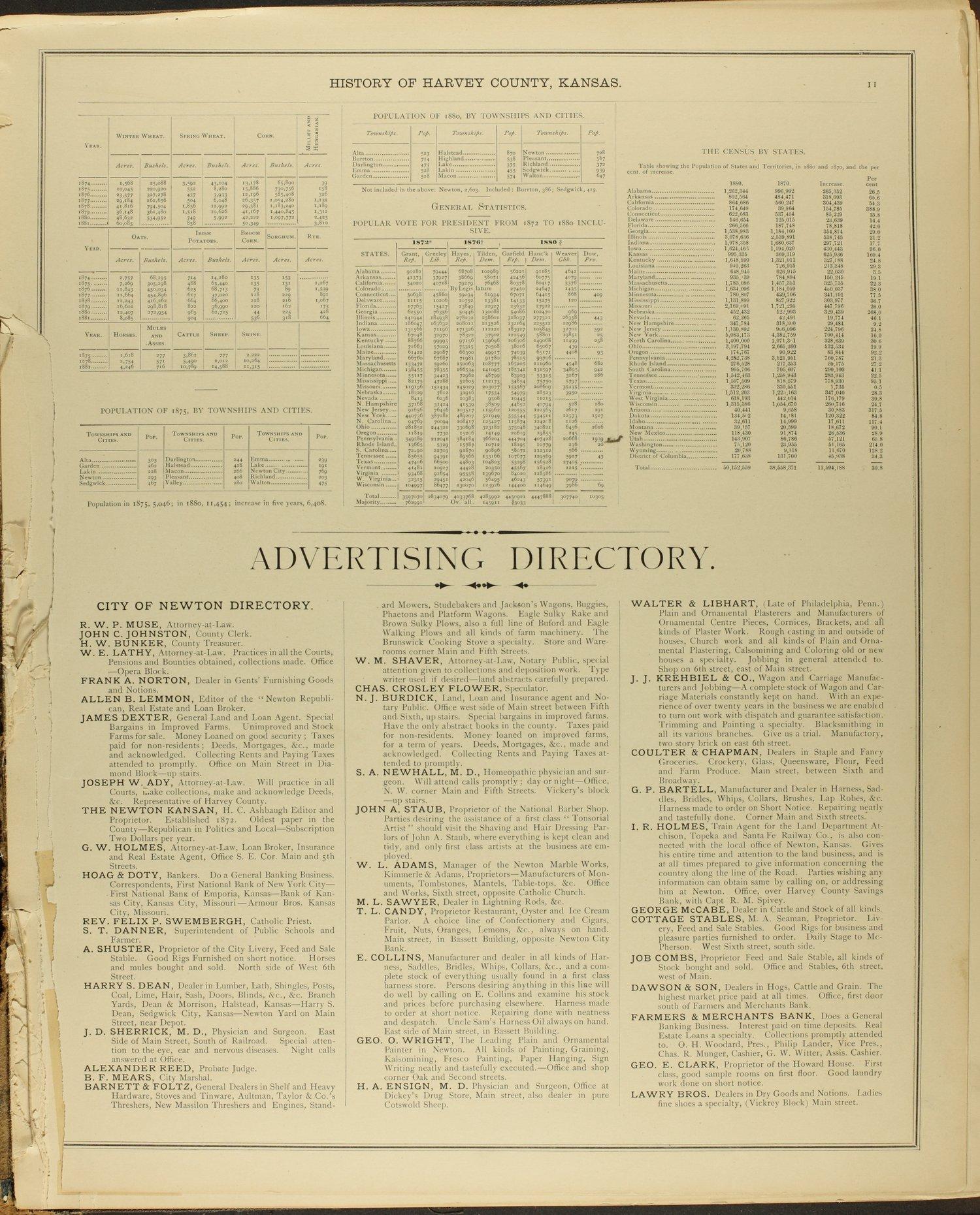 Historical atlas of Harvey County, Kansas - 11