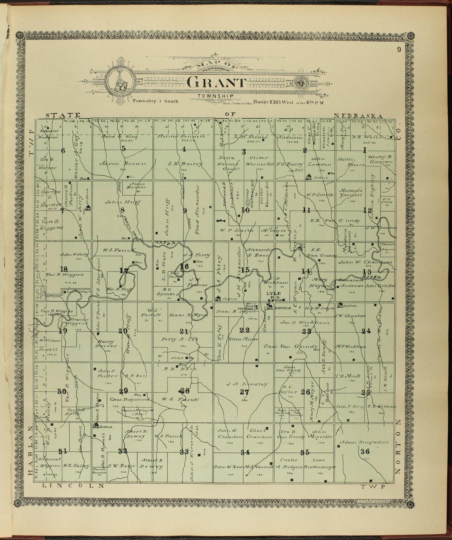Standard atlas of Decatur County, Kansas - 9