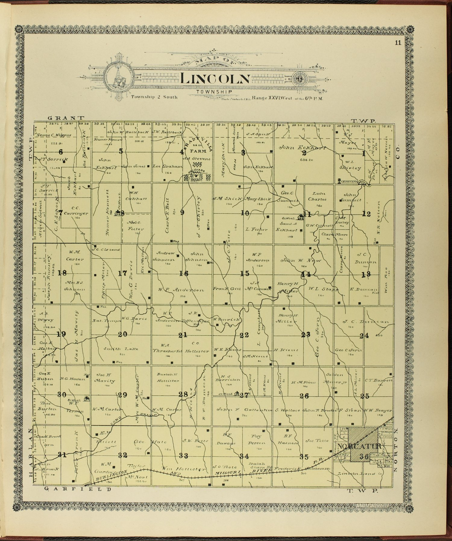 Standard atlas of Decatur County, Kansas - 11