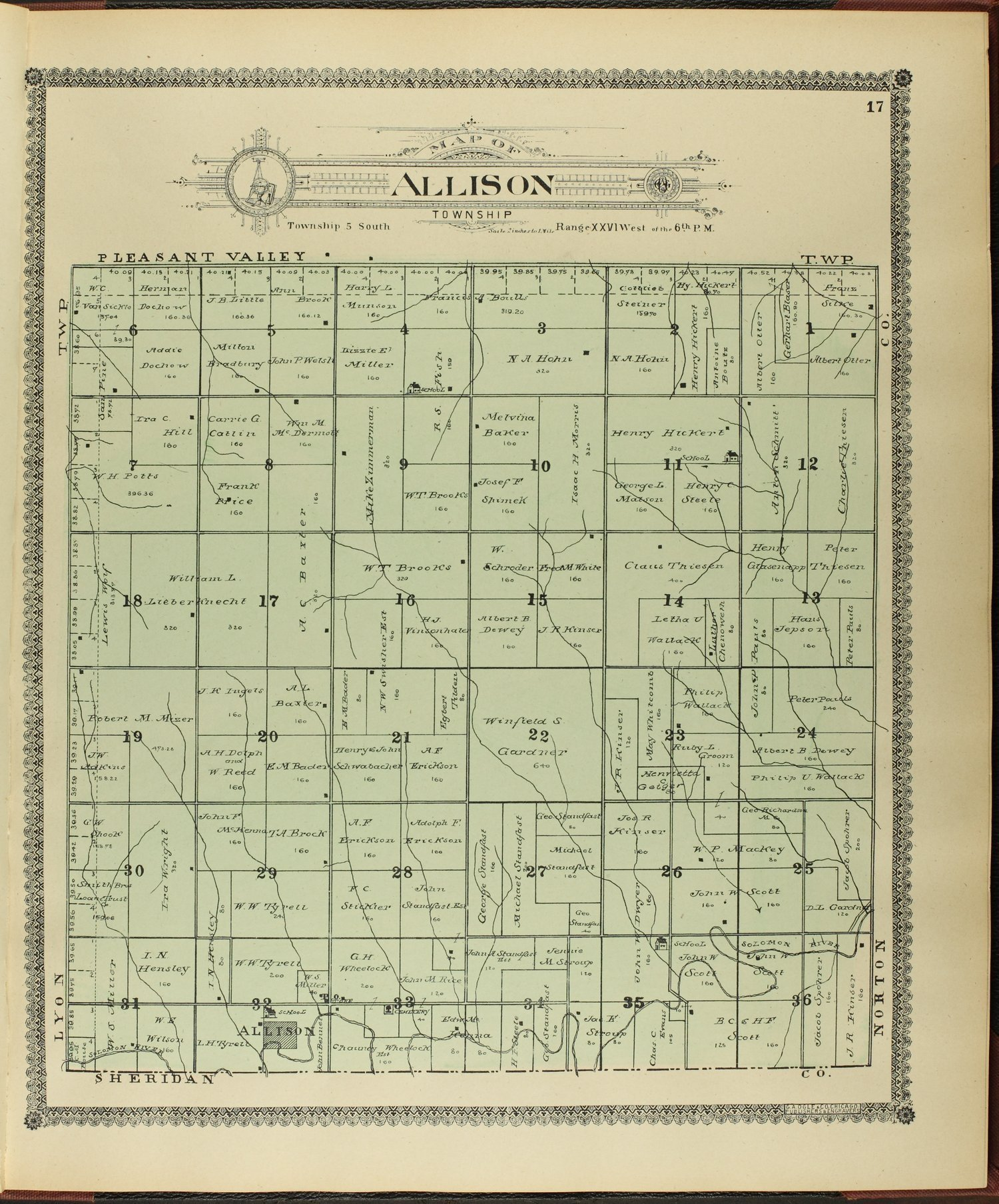 Standard atlas of Decatur County, Kansas - 17