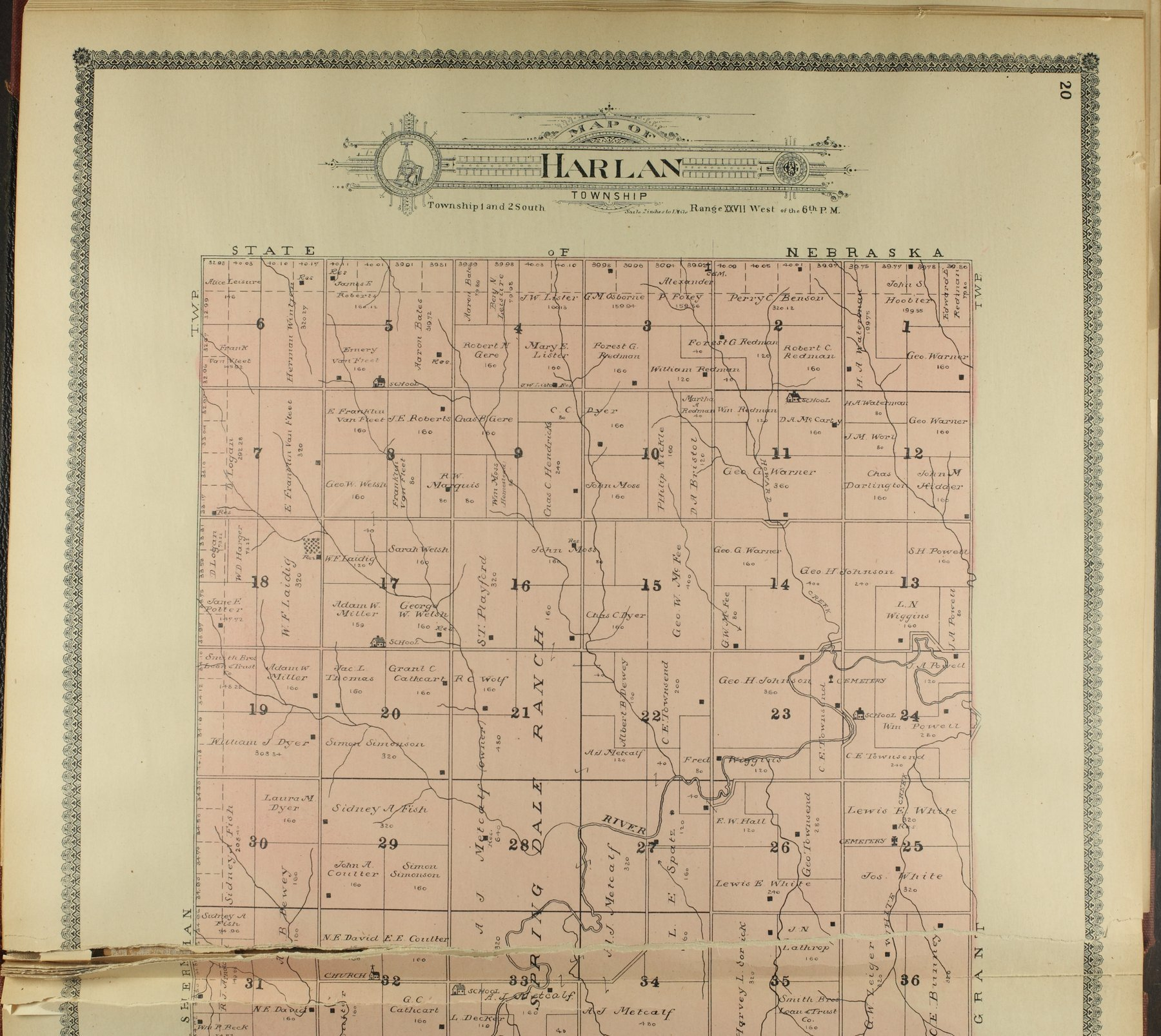 Standard atlas of Decatur County, Kansas - 20