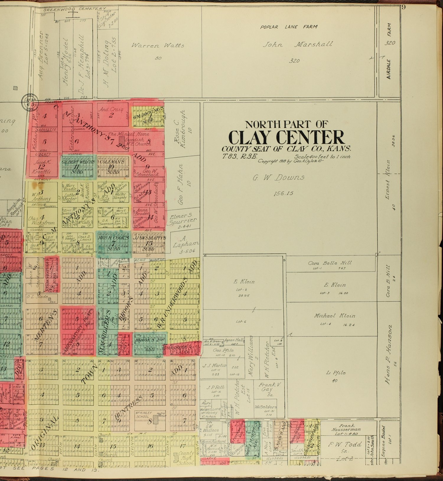 Standard atlas of Clay County, Kansas - 9