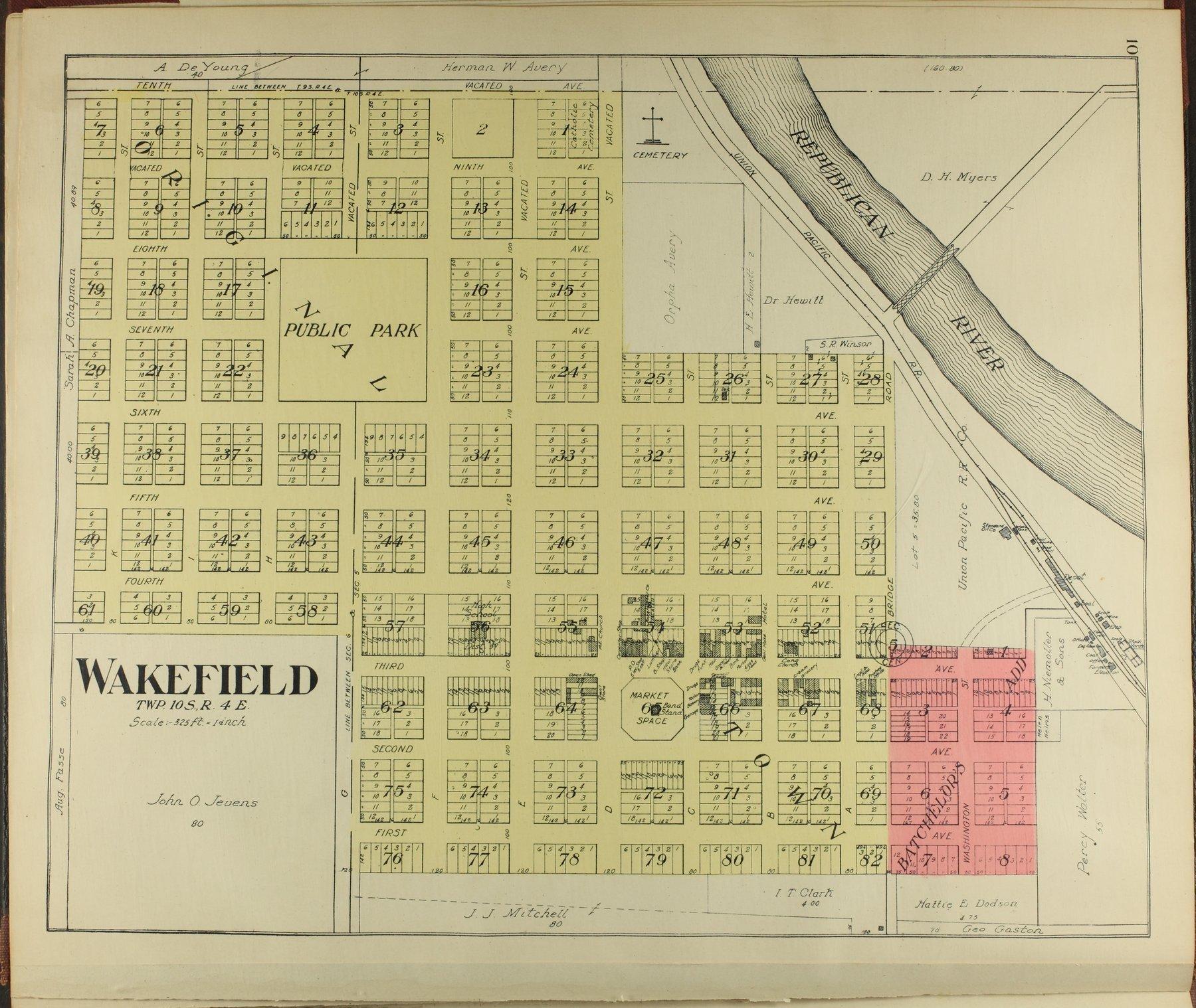 Standard atlas of Clay County, Kansas - 10
