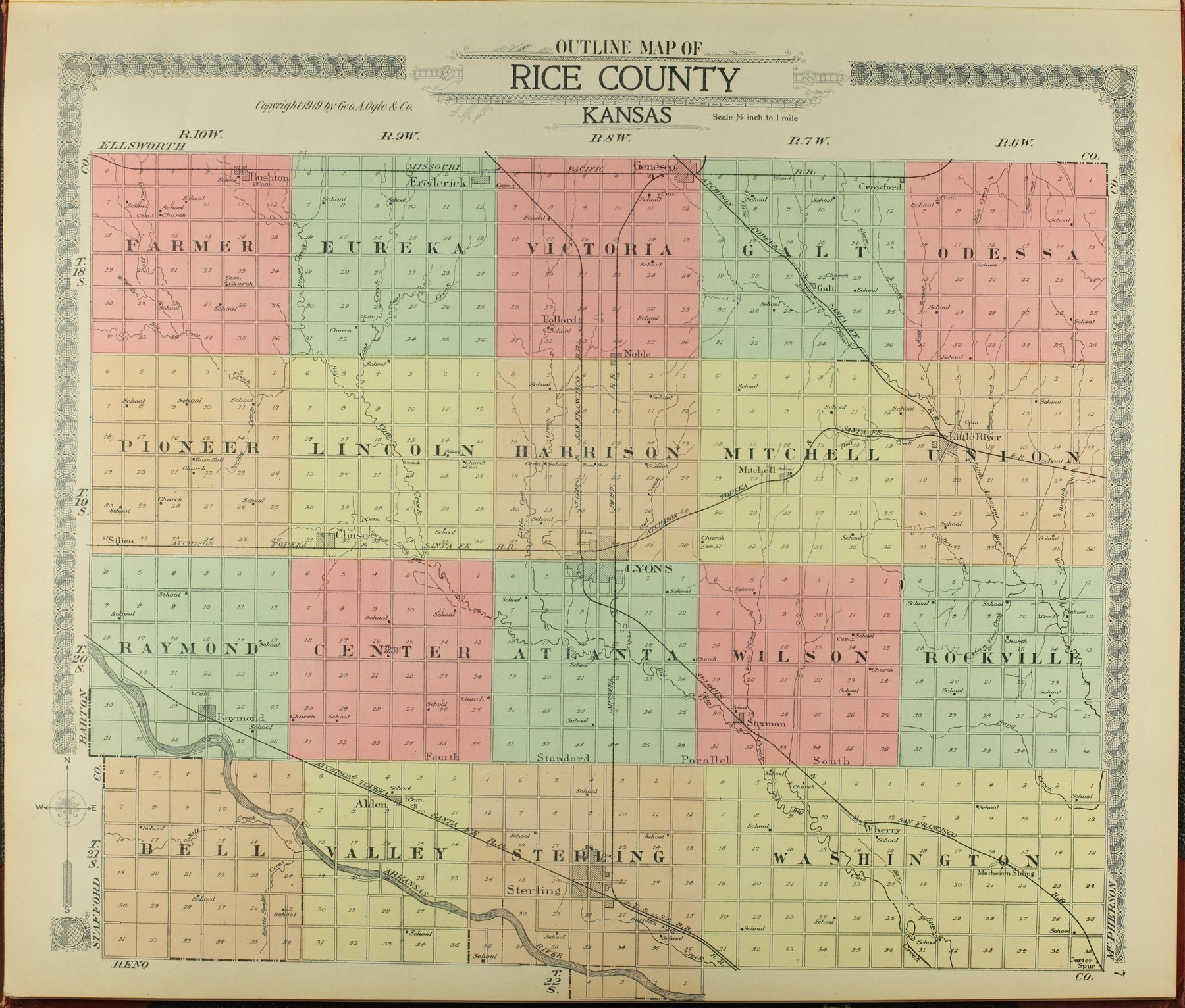 Standard atlas of Rice County, Kansas - 7