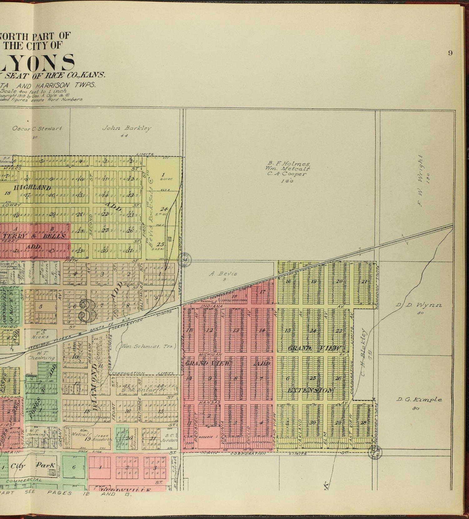 Standard atlas of Rice County, Kansas - 9