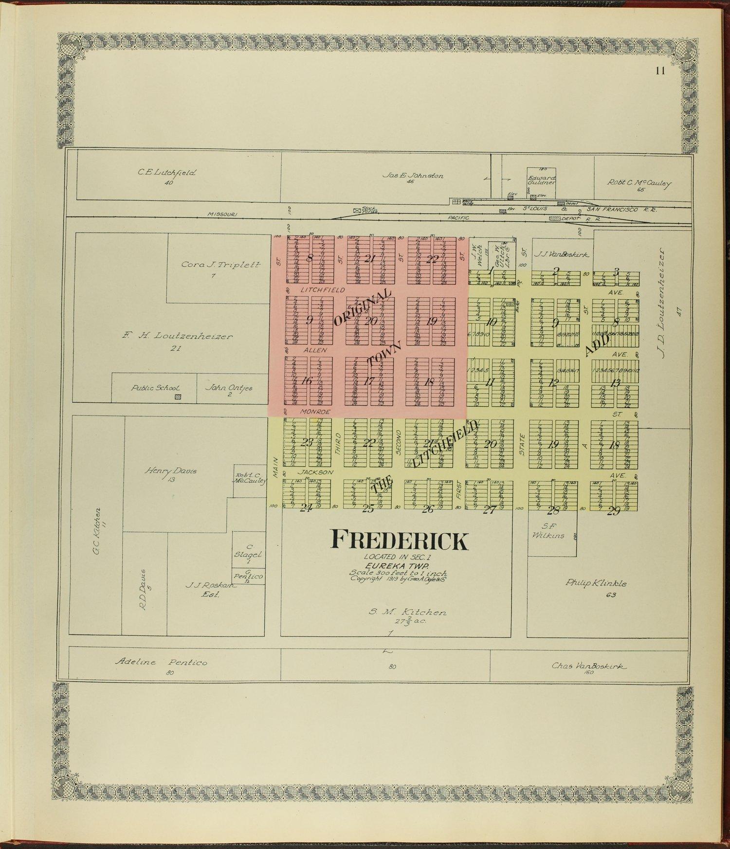 Standard atlas of Rice County, Kansas - 11