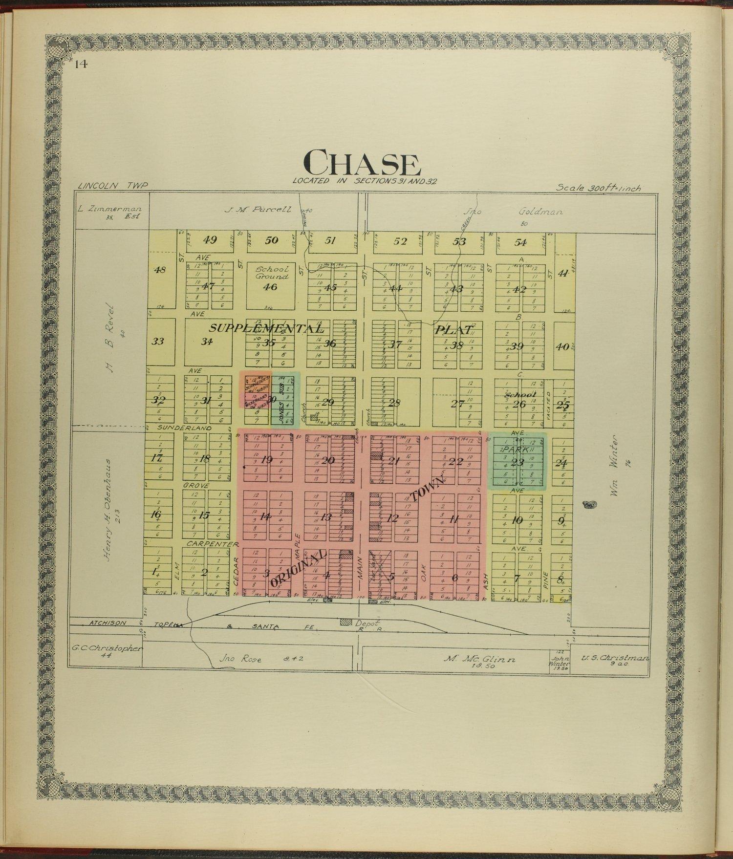 Standard atlas of Rice County, Kansas - 14