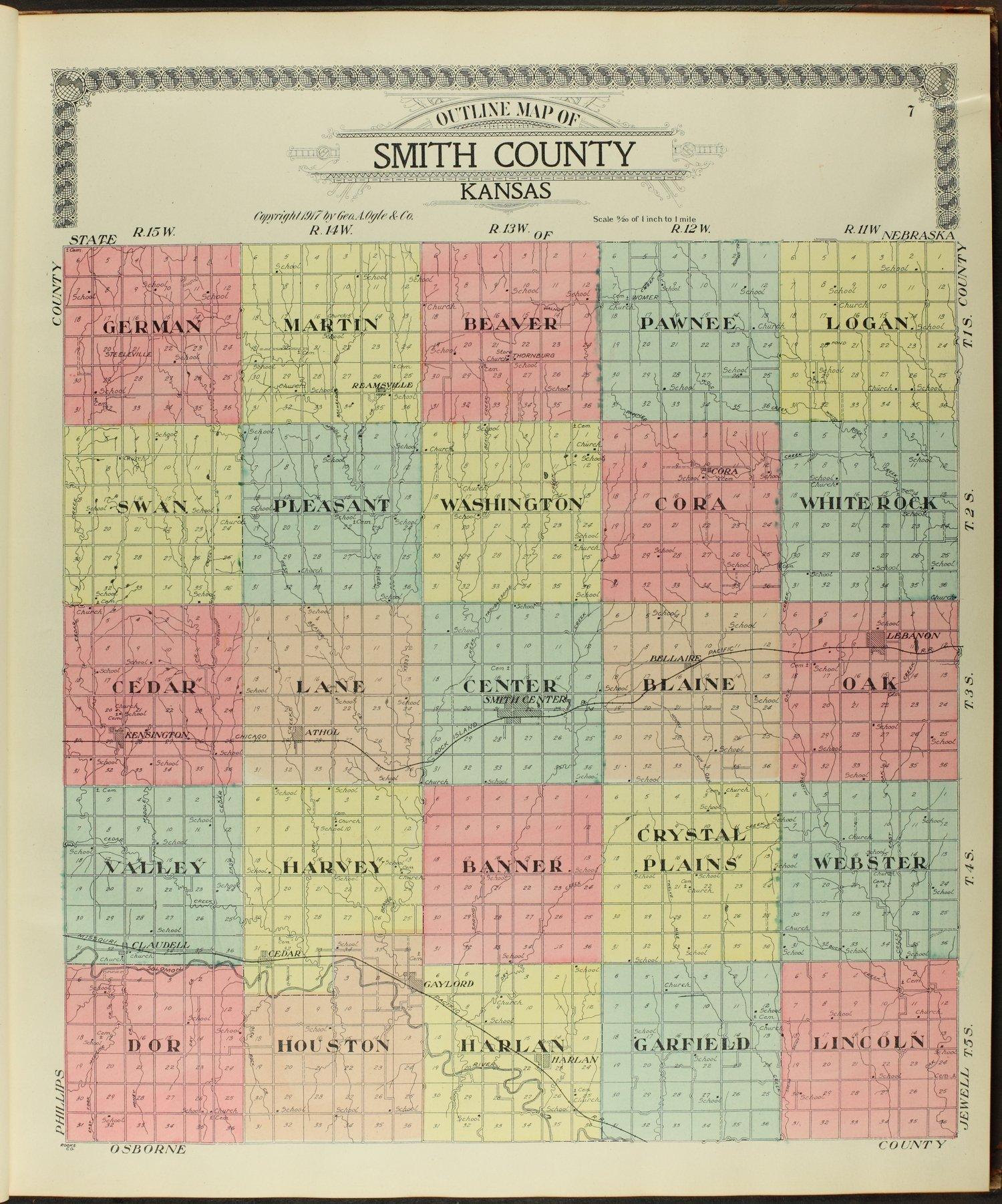 Standard atlas of Smith County, Kansas - 7
