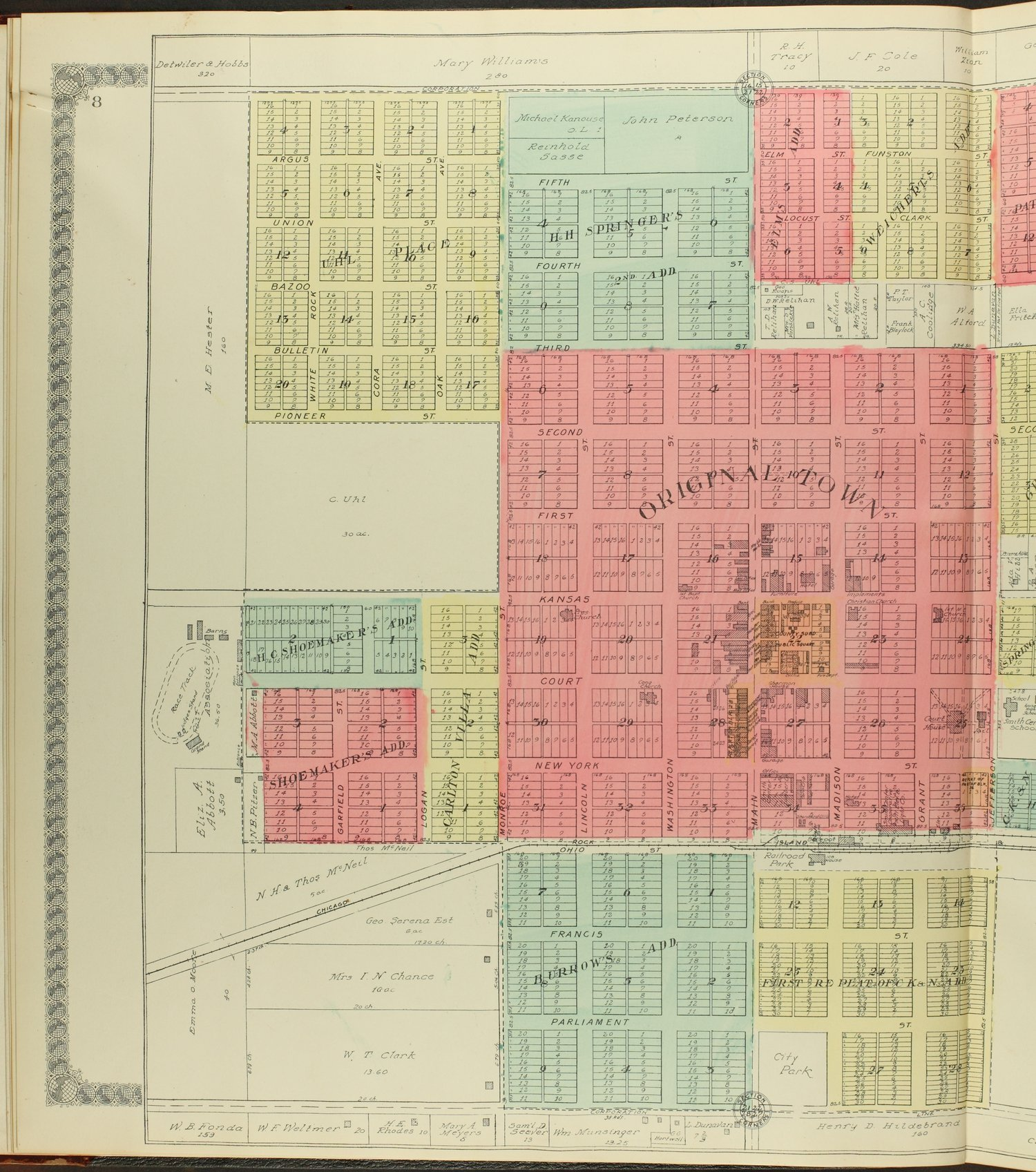 Standard atlas of Smith County, Kansas - 8