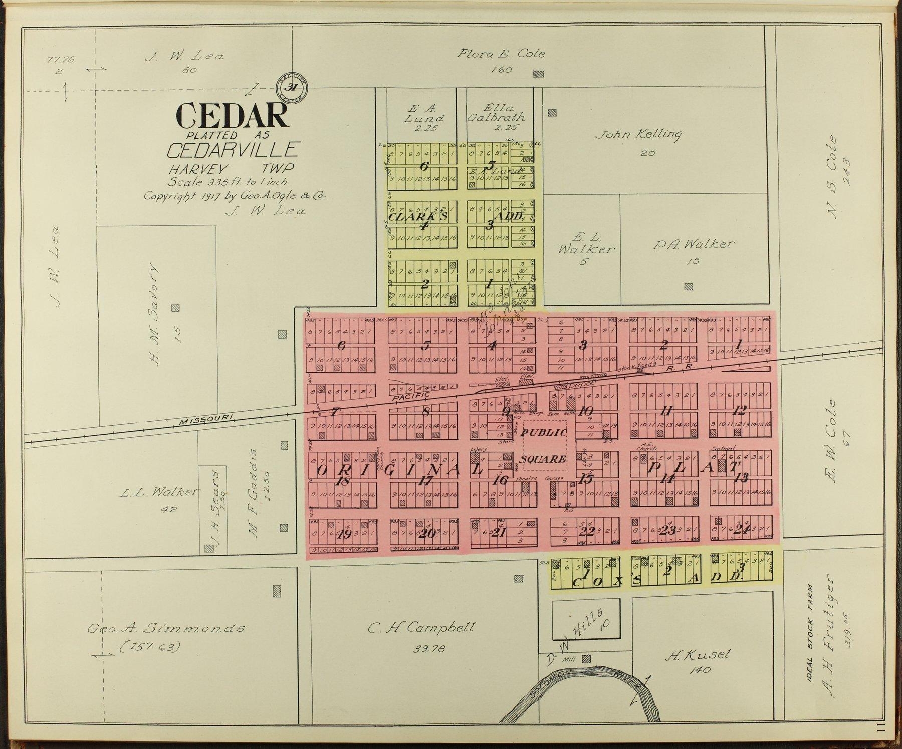 Standard atlas of Smith County, Kansas - 11