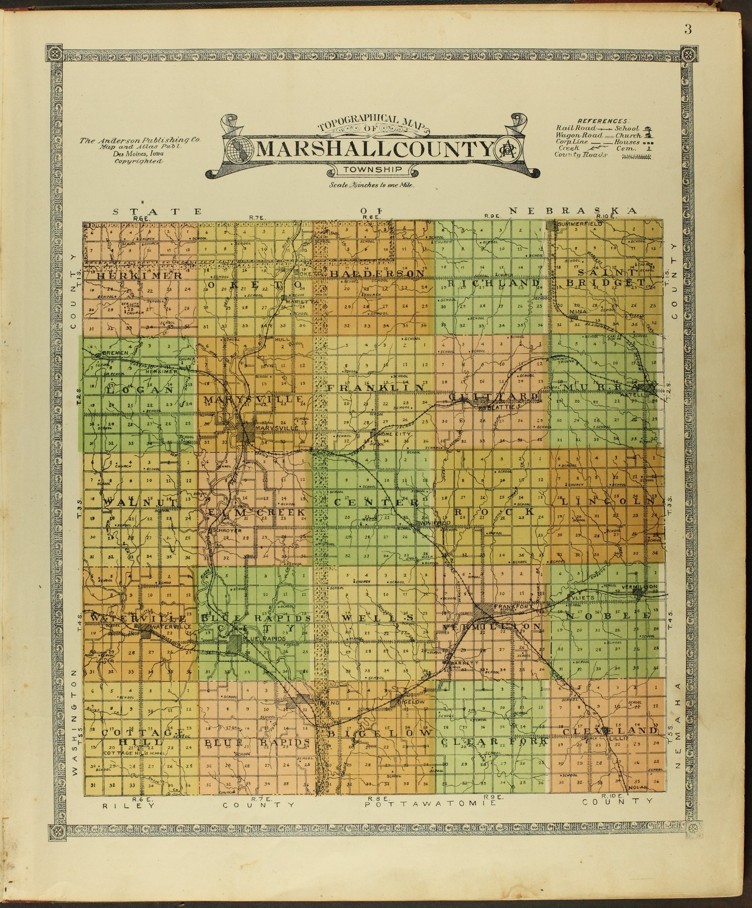 Atlas of Marshall County, Kansas - 3