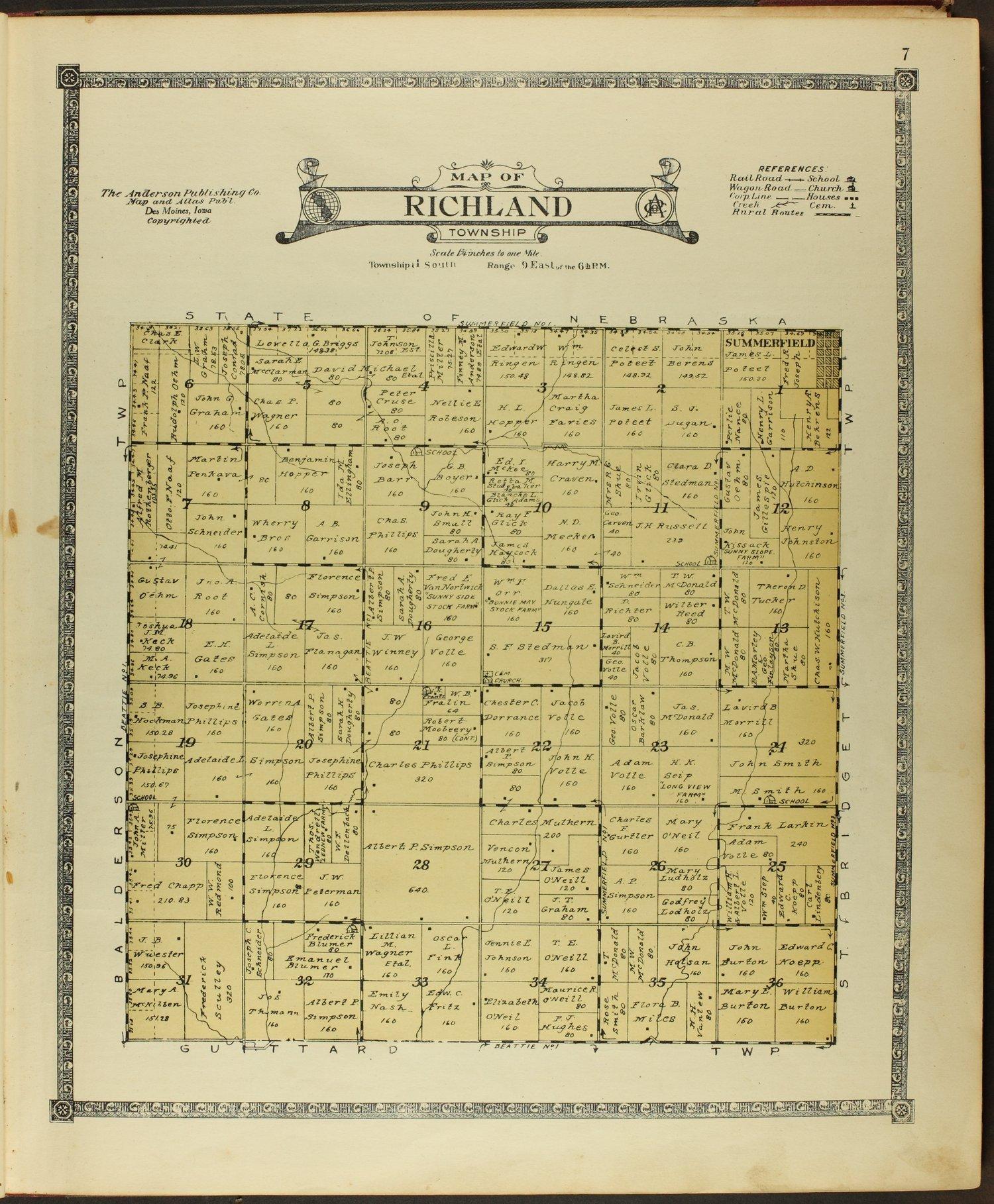 Atlas of Marshall County, Kansas - 7