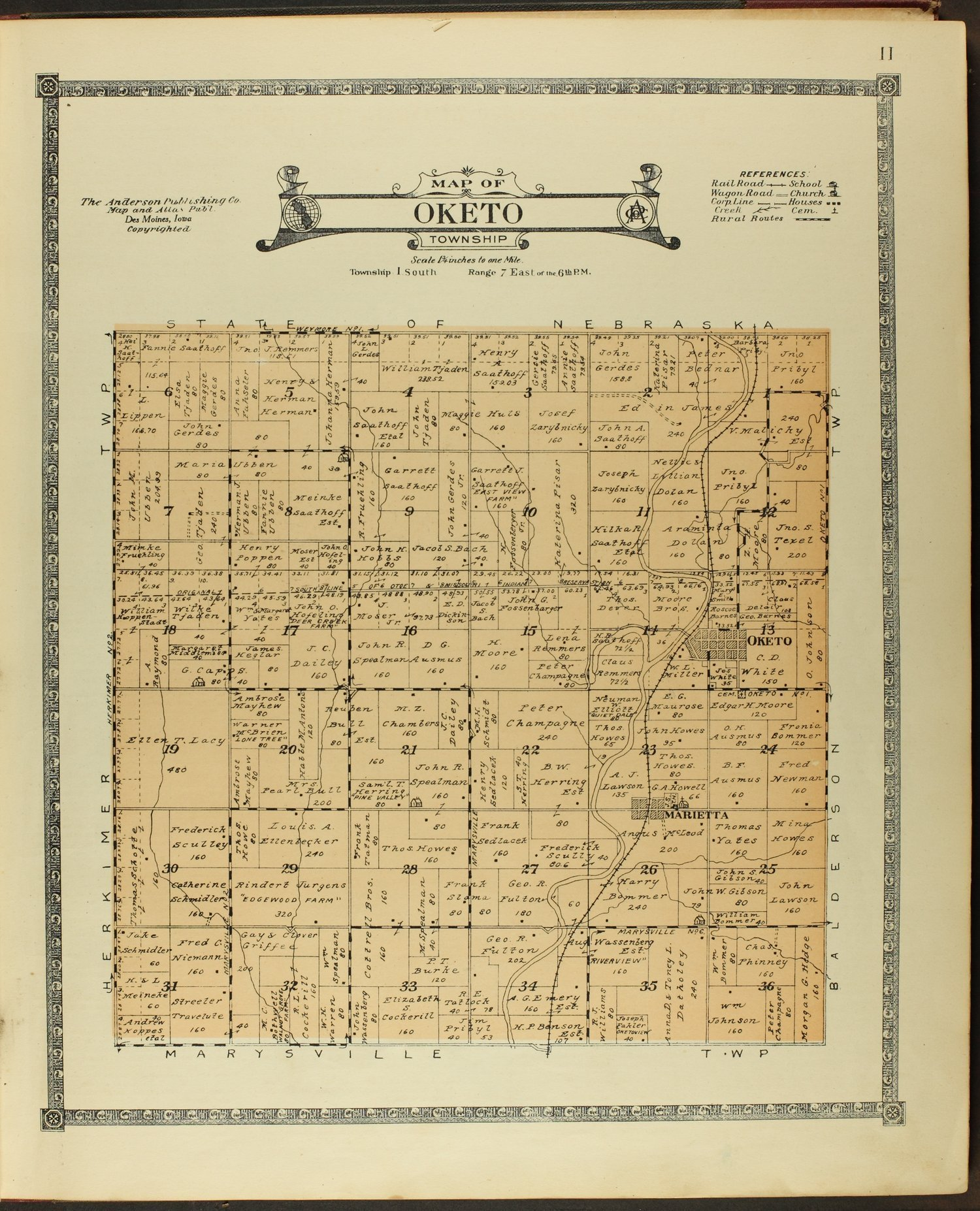 Atlas of Marshall County, Kansas - 11