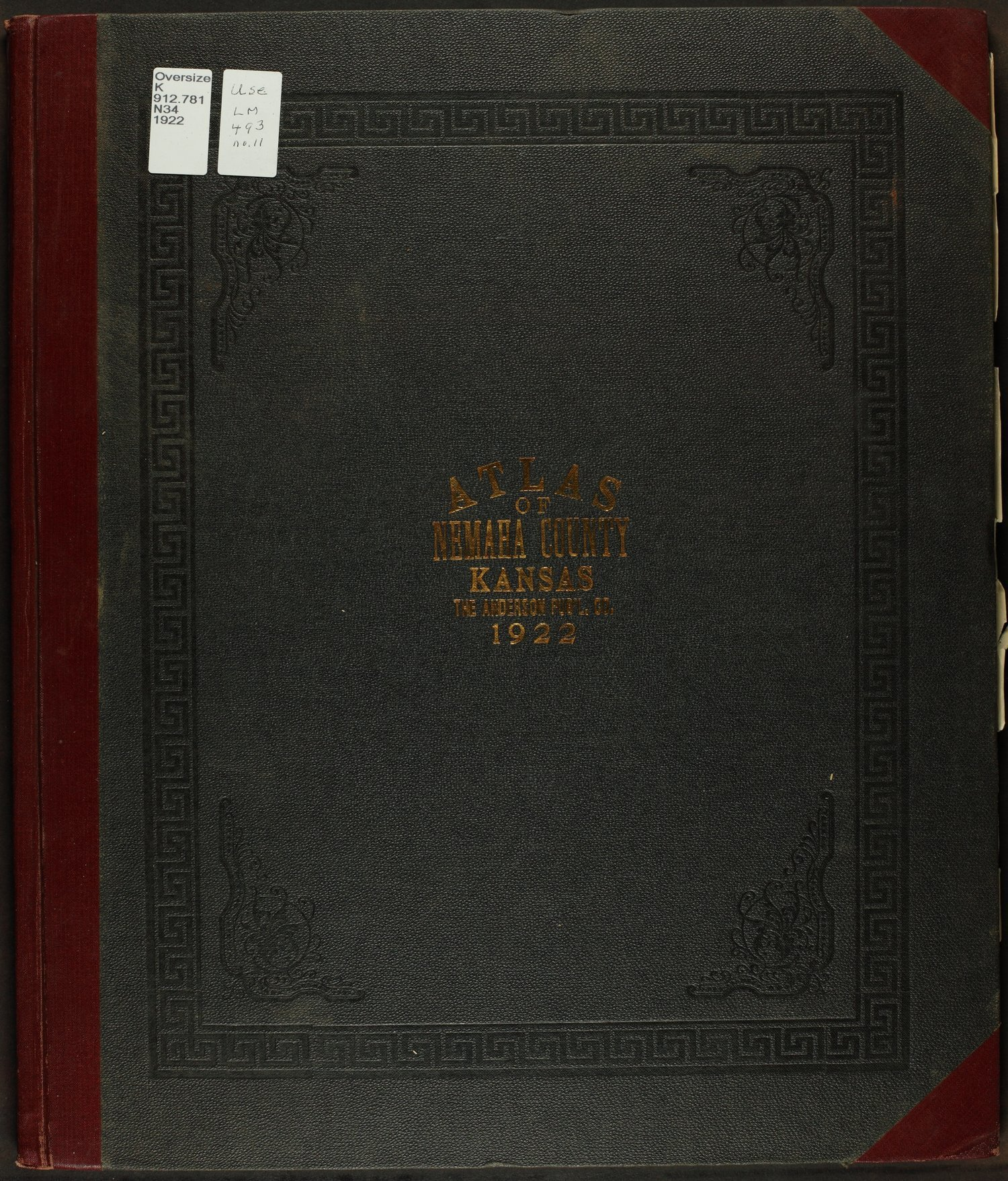 Atlas of Nemaha County, Kansas - Front Cover