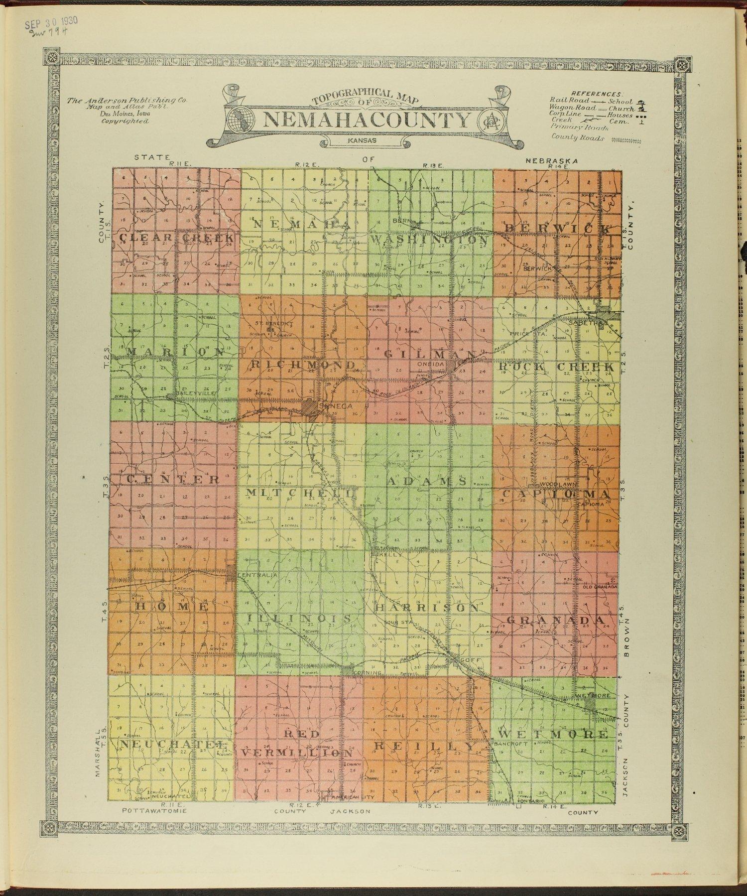 Atlas of Nemaha County, Kansas - 3