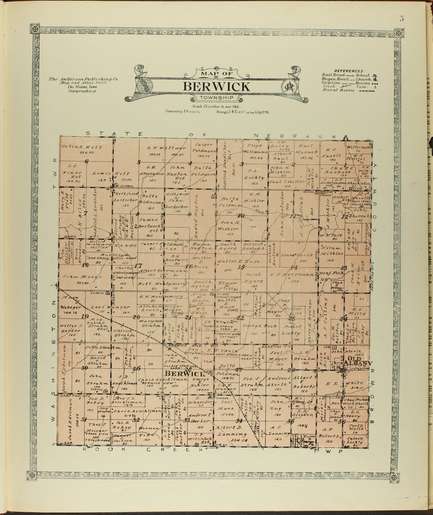 Atlas of Nemaha County, Kansas - 5