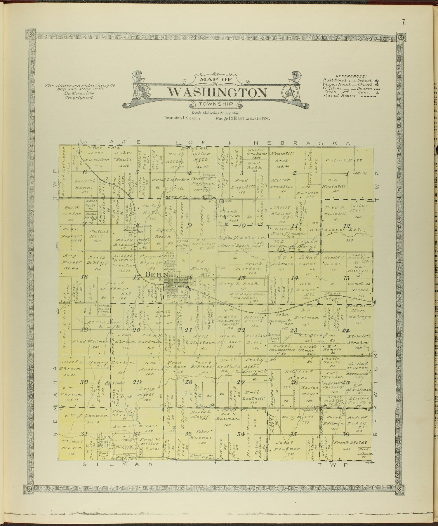 Atlas of Nemaha County, Kansas - 7