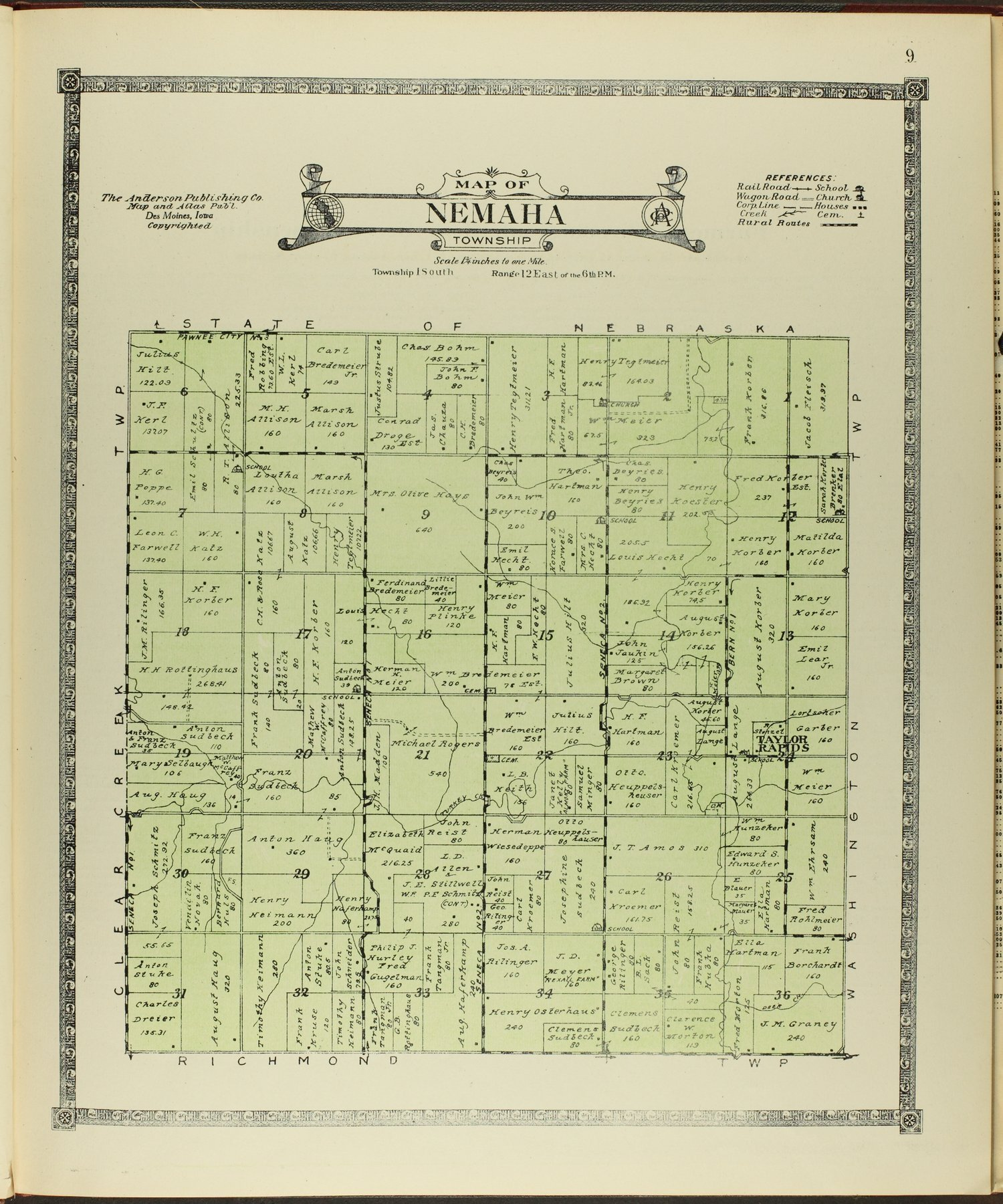 Atlas of Nemaha County, Kansas - 9