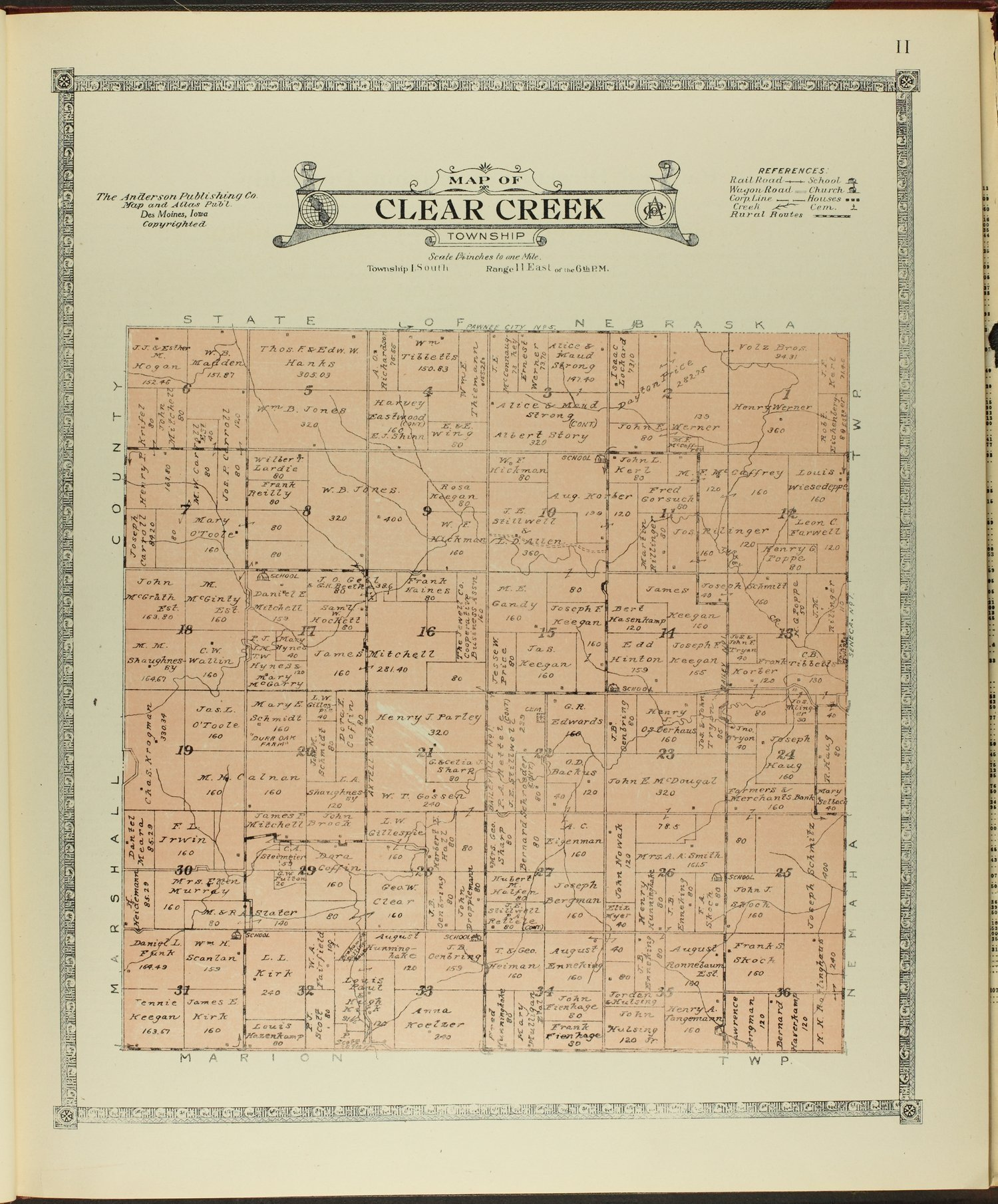 Atlas of Nemaha County, Kansas - 11