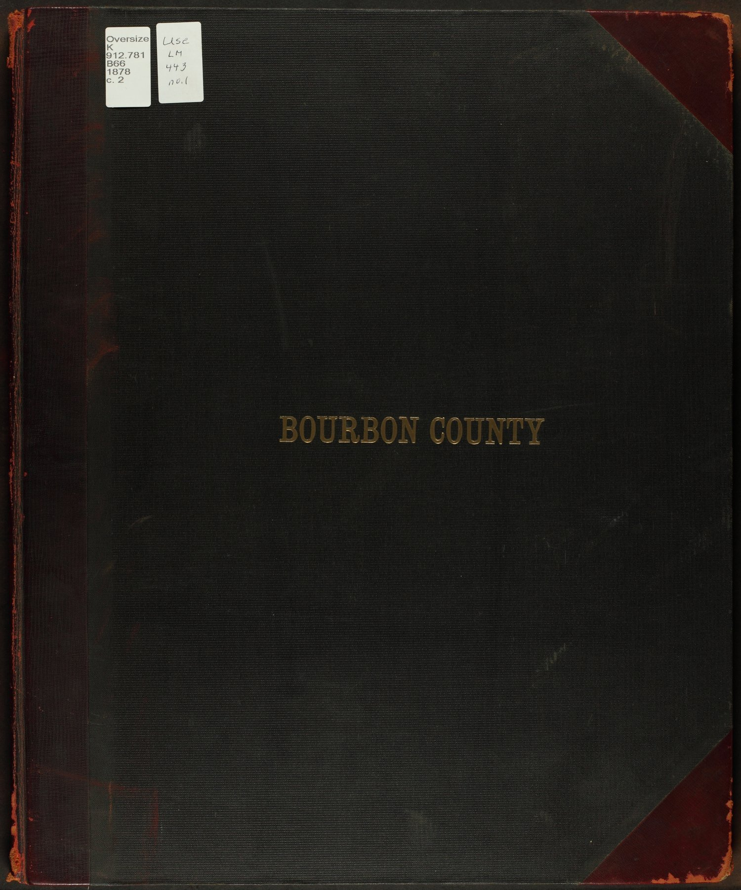 An illustrated historical atlas of Bourbon County, Kansas - Front Cover