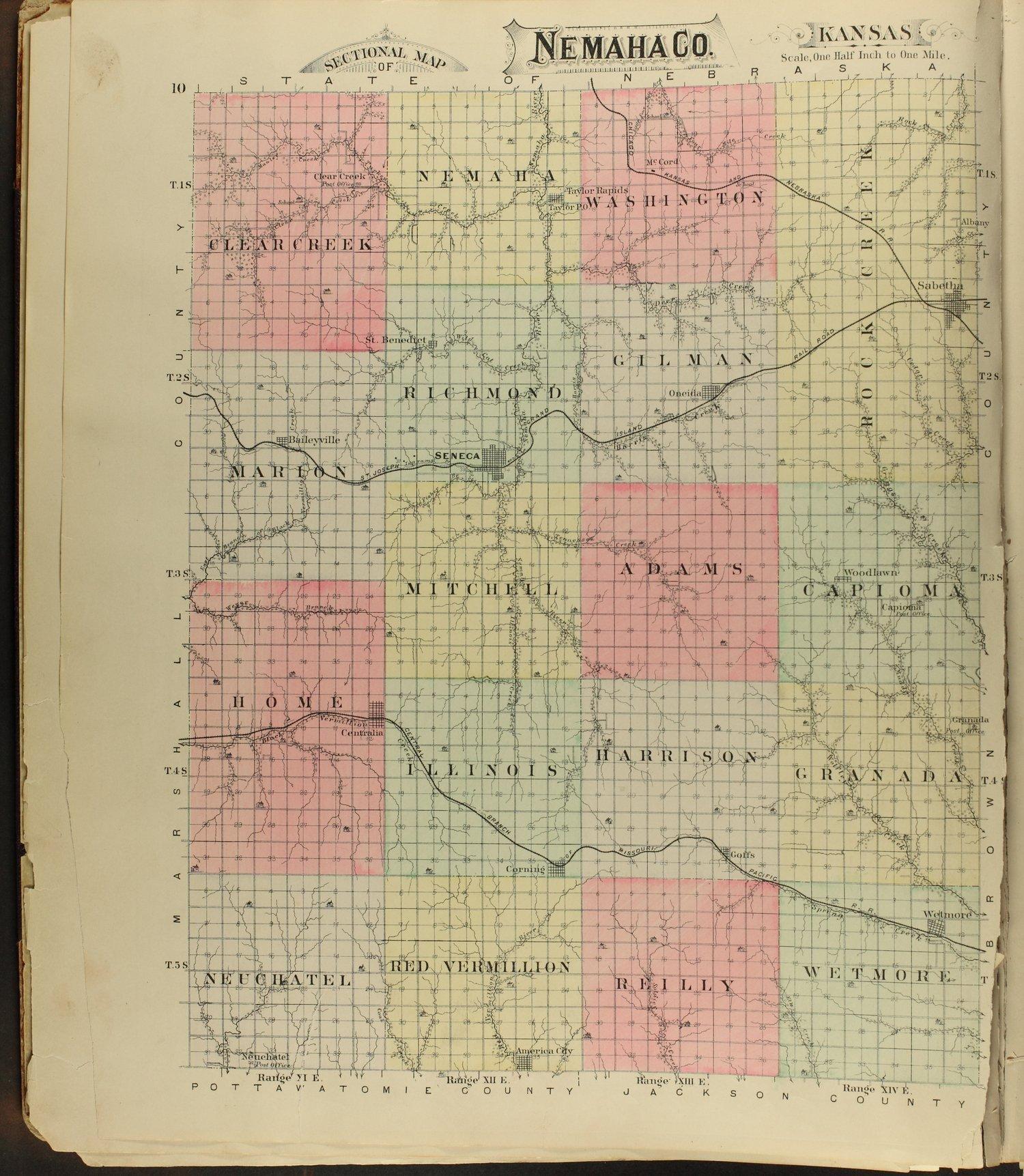 Meacham's illustrated atlas of Brown and Nemaha counties, Kansas - 10