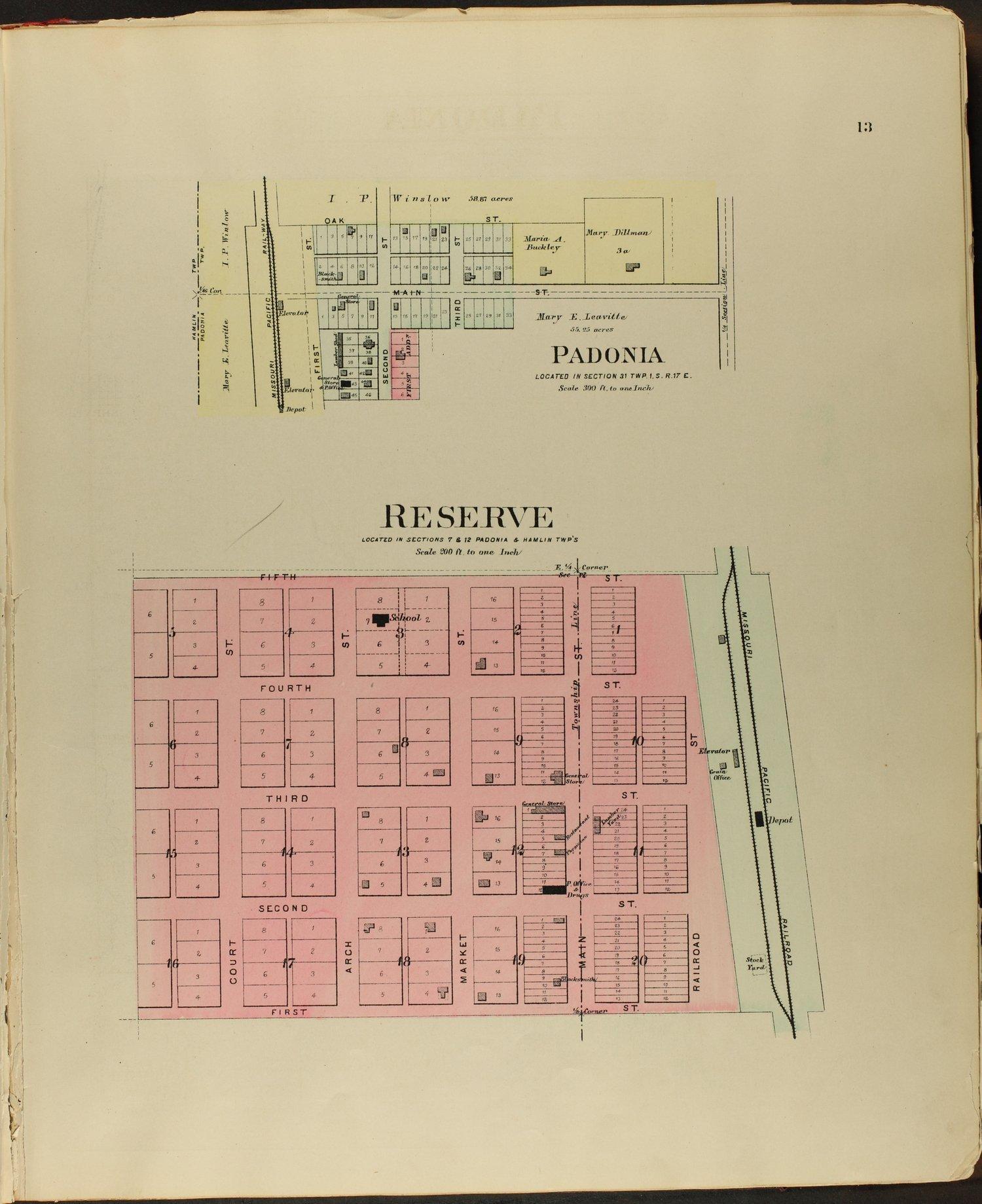 Meacham's illustrated atlas of Brown and Nemaha counties, Kansas - 13