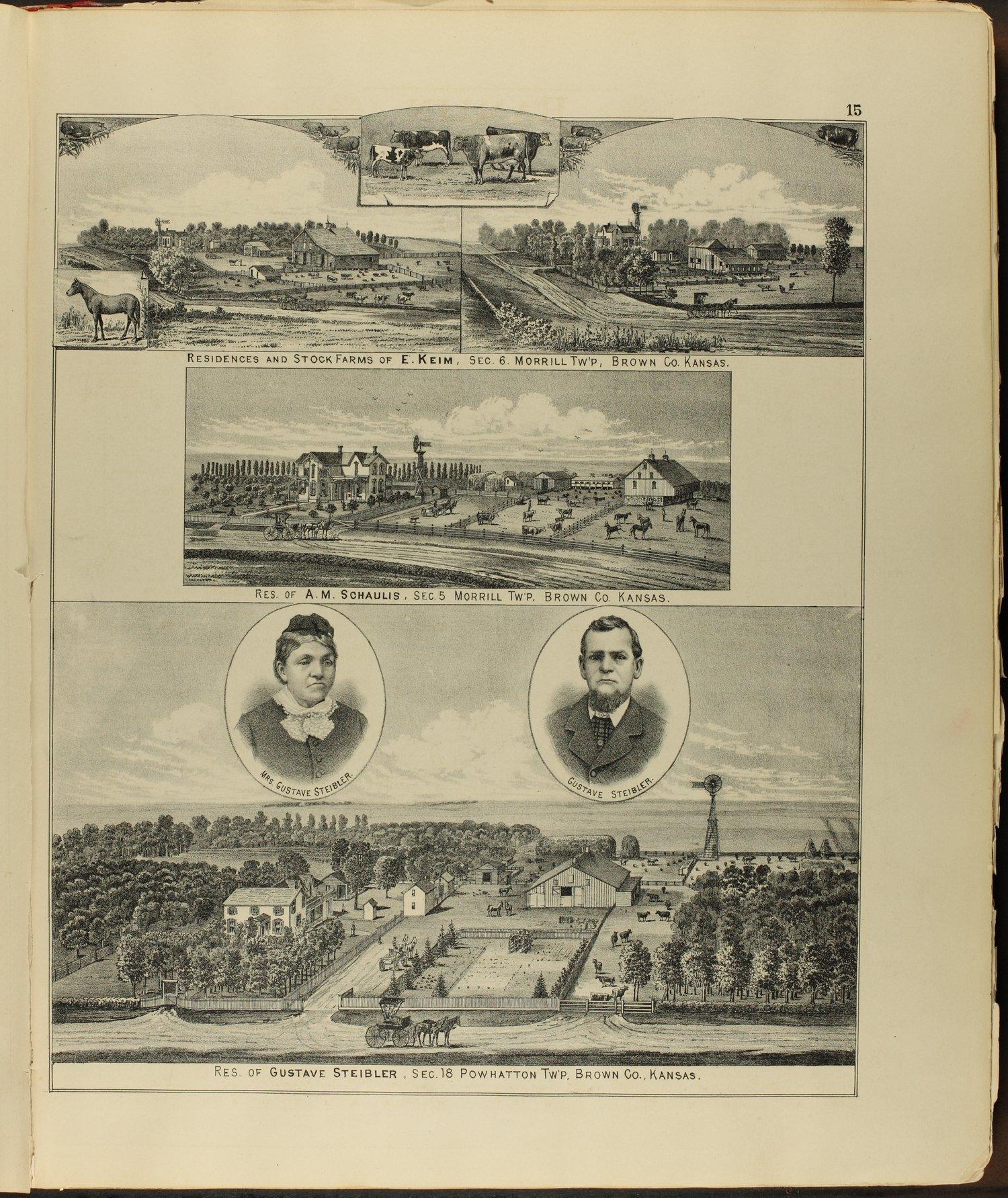 Meacham's illustrated atlas of Brown and Nemaha counties, Kansas - 15