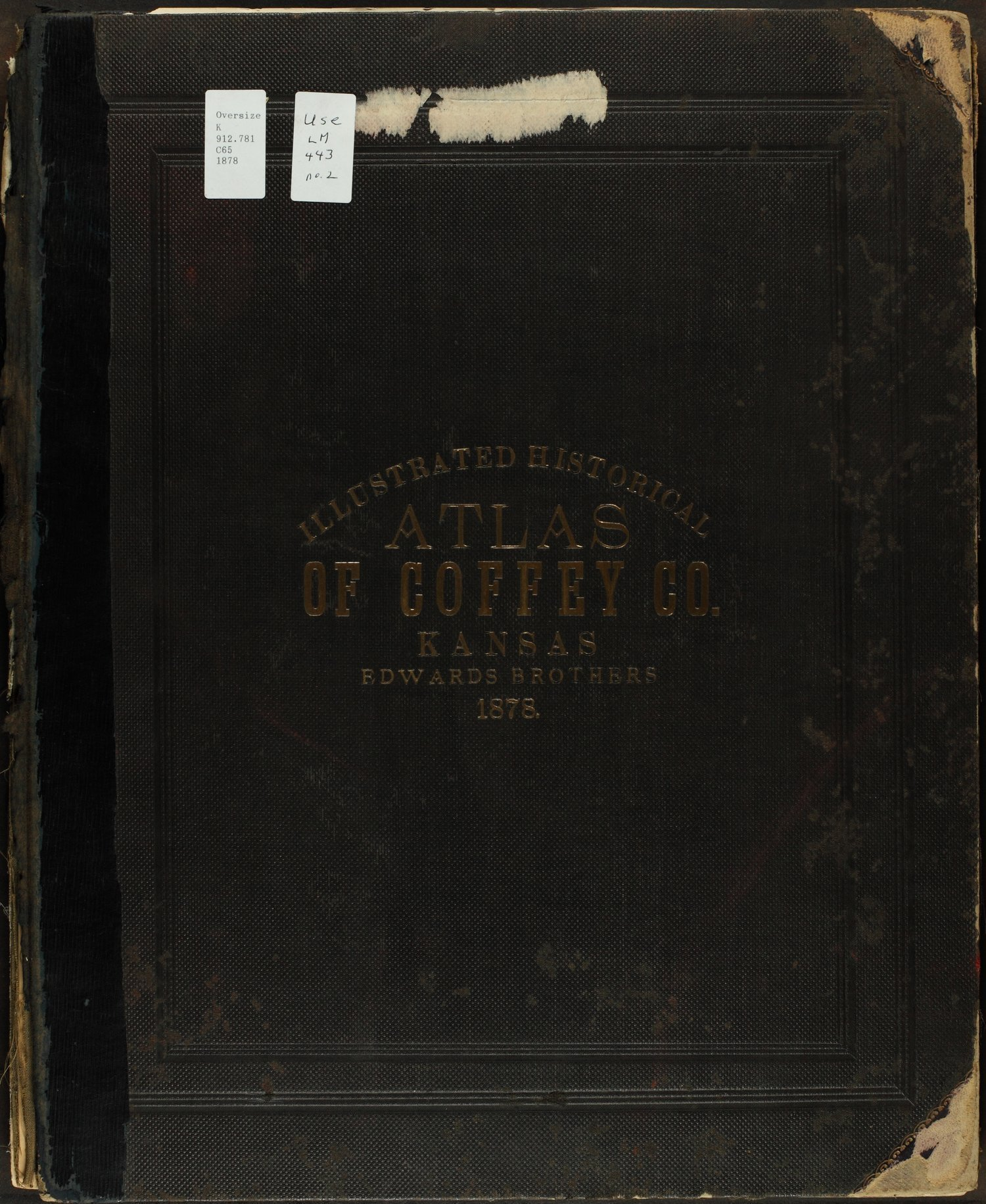 An illustrated historical atlas of Coffey County, Kansas - Front Cover