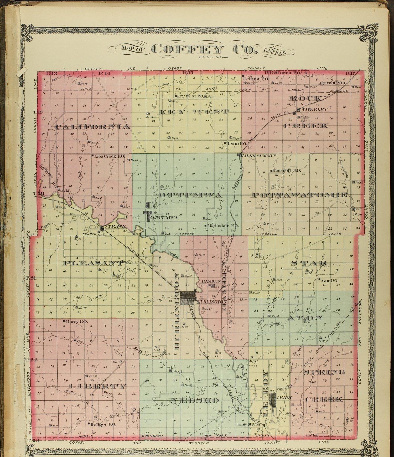 An illustrated historical atlas of Coffey County, Kansas - 5