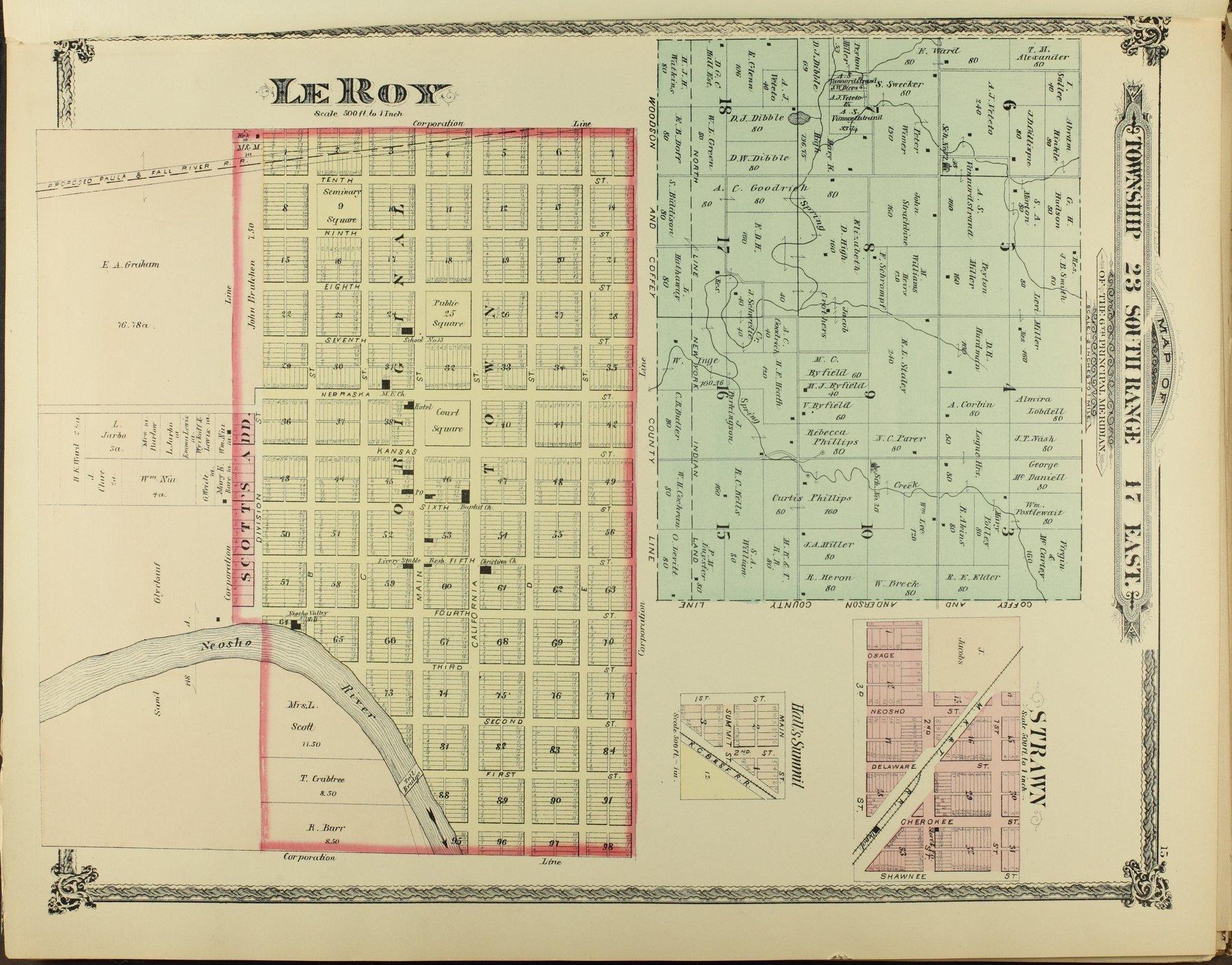 An illustrated historical atlas of Coffey County, Kansas - 15